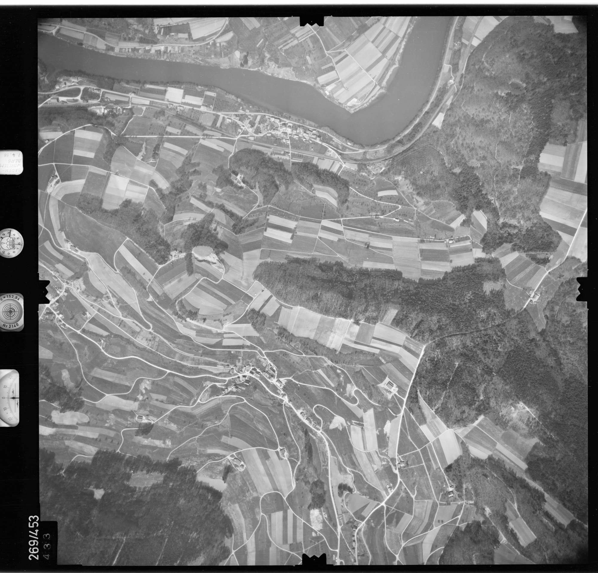 Luftbild: Film 81 Bildnr. 433, Bild 1