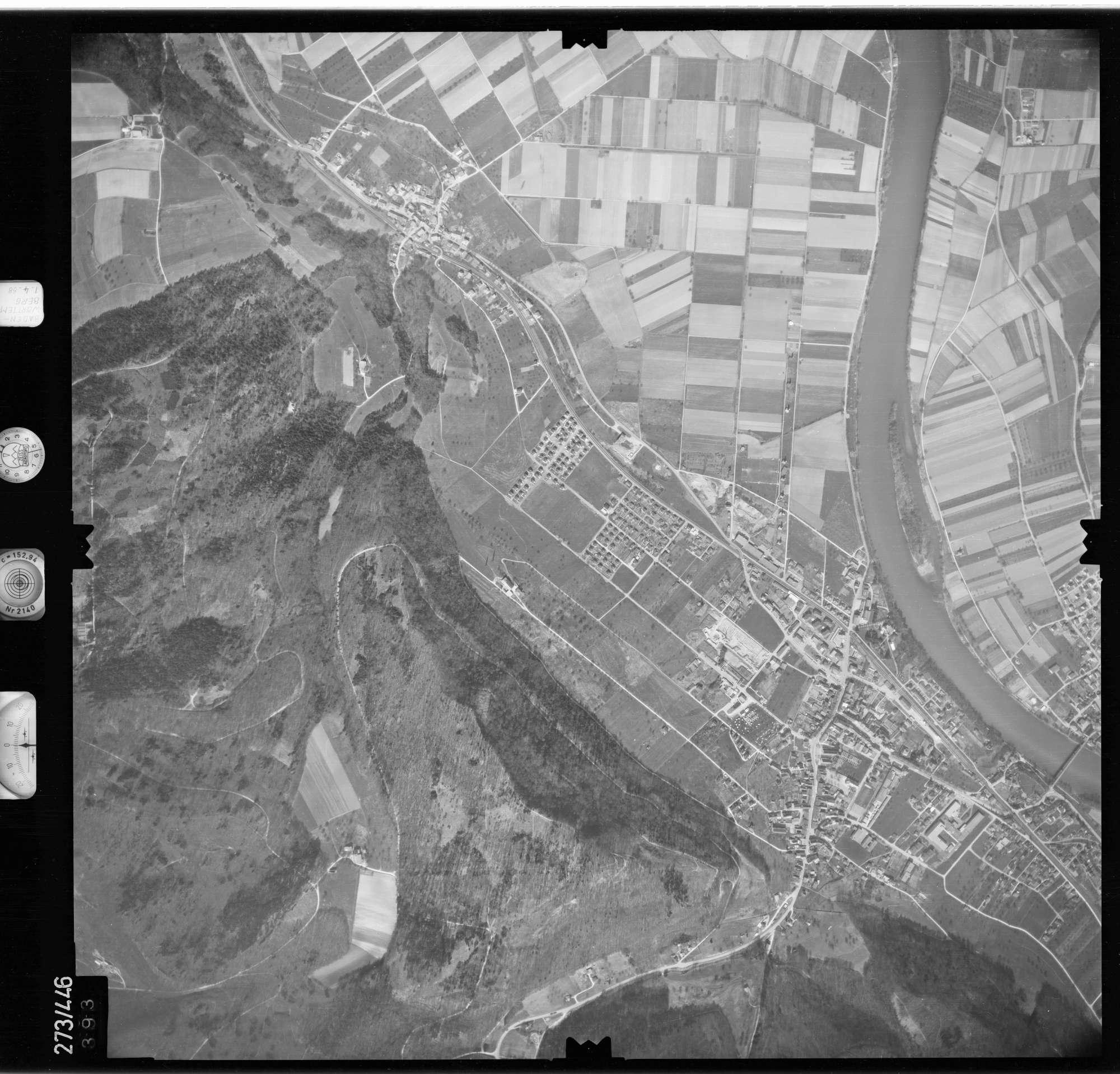 Luftbild: Film 81 Bildnr. 393, Bild 1