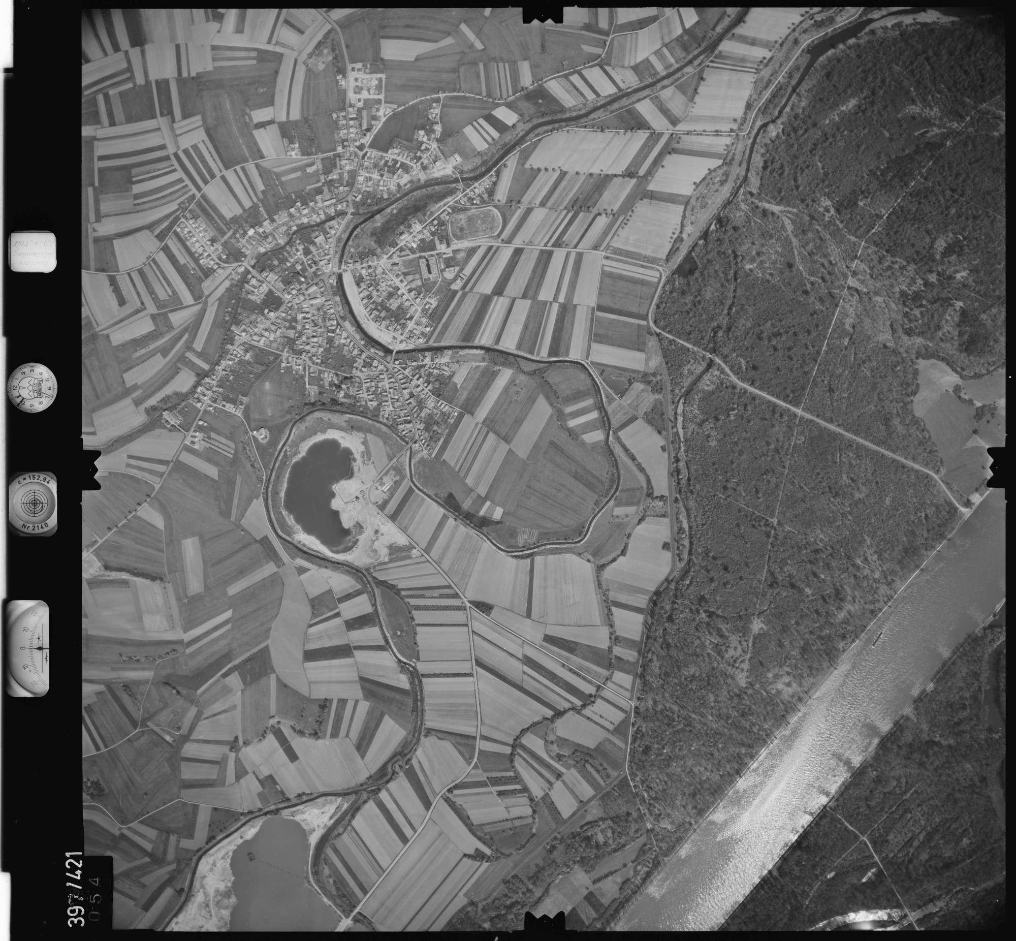Luftbild: Film 11 Bildnr. 54, Bild 1