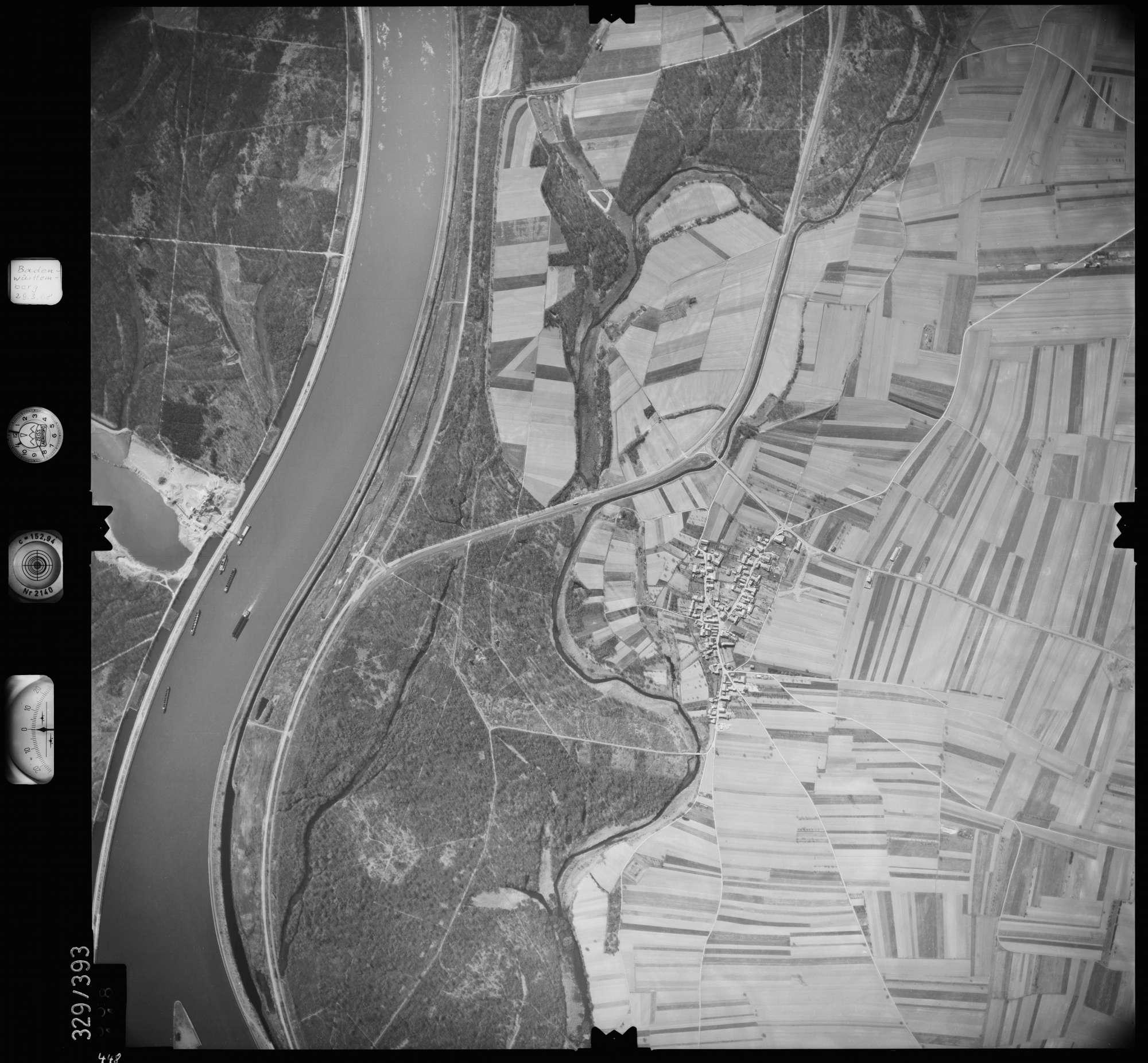 Luftbild: Film 47 Bildnr. 448, Bild 1