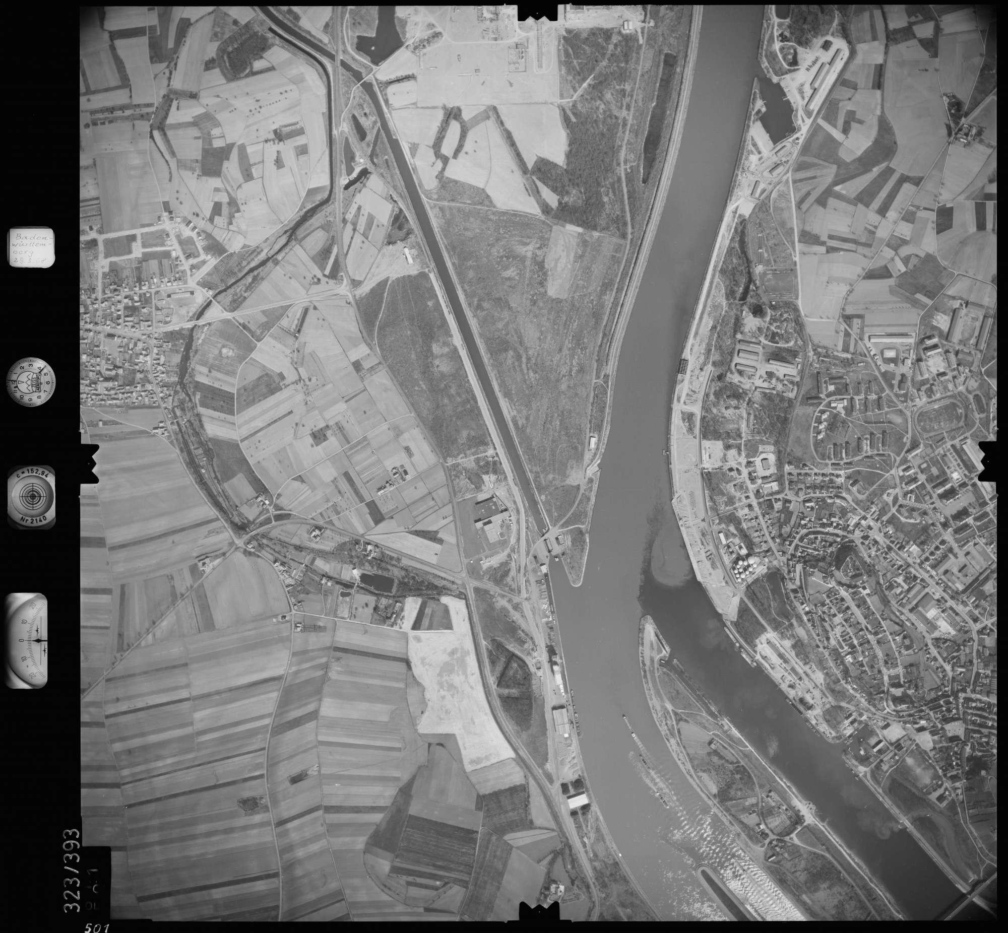 Luftbild: Film 47 Bildnr. 501, Bild 1