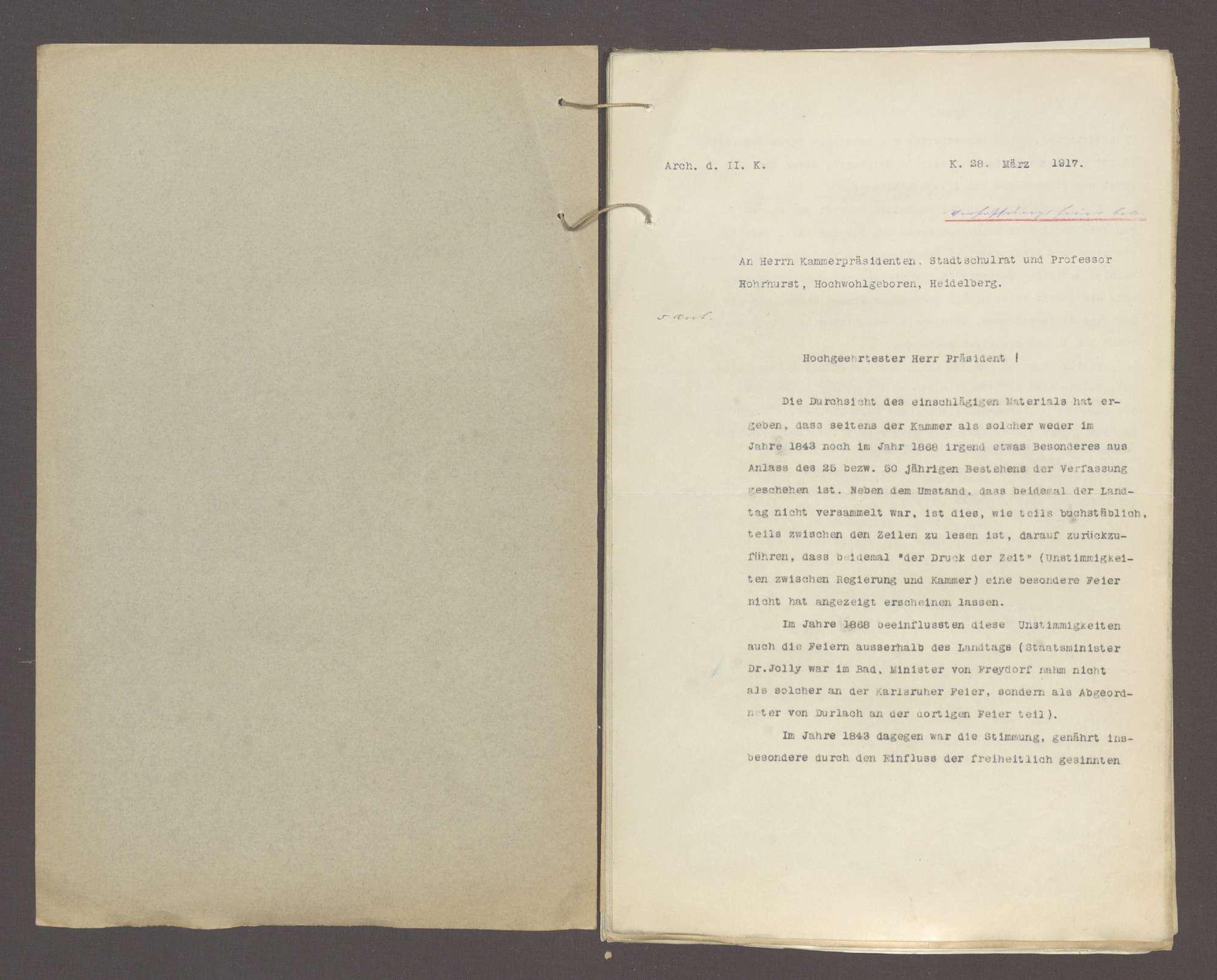 Die Begehung der 100jährigen Verfassungsfeier btr., Bild 2