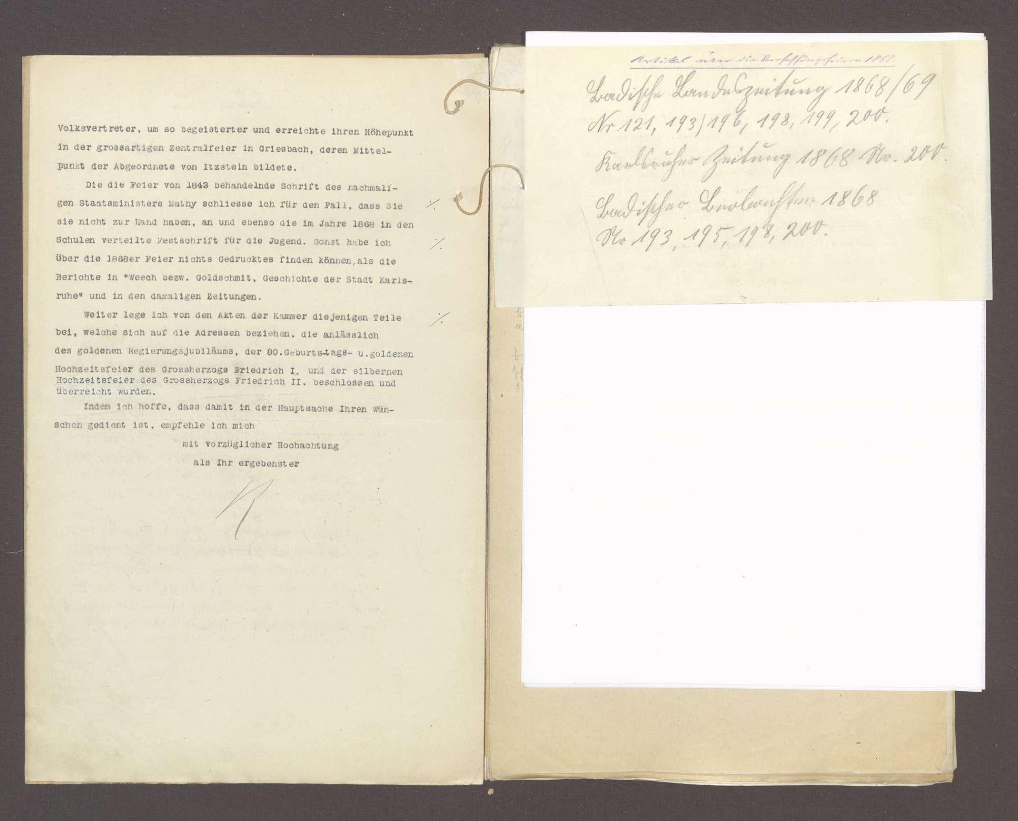 Die Begehung der 100jährigen Verfassungsfeier btr., Bild 3