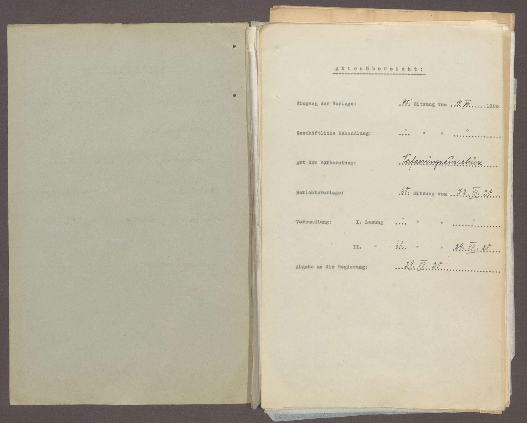 Antrag der Abg. D. Mayer (Karlsruhe) u. Gen., das Gesetz über das Verfahren bei Volksabstimmungen betr. (Landtagswahlgesetz) -Drucks. Nr. 116-116a-, Bild 2