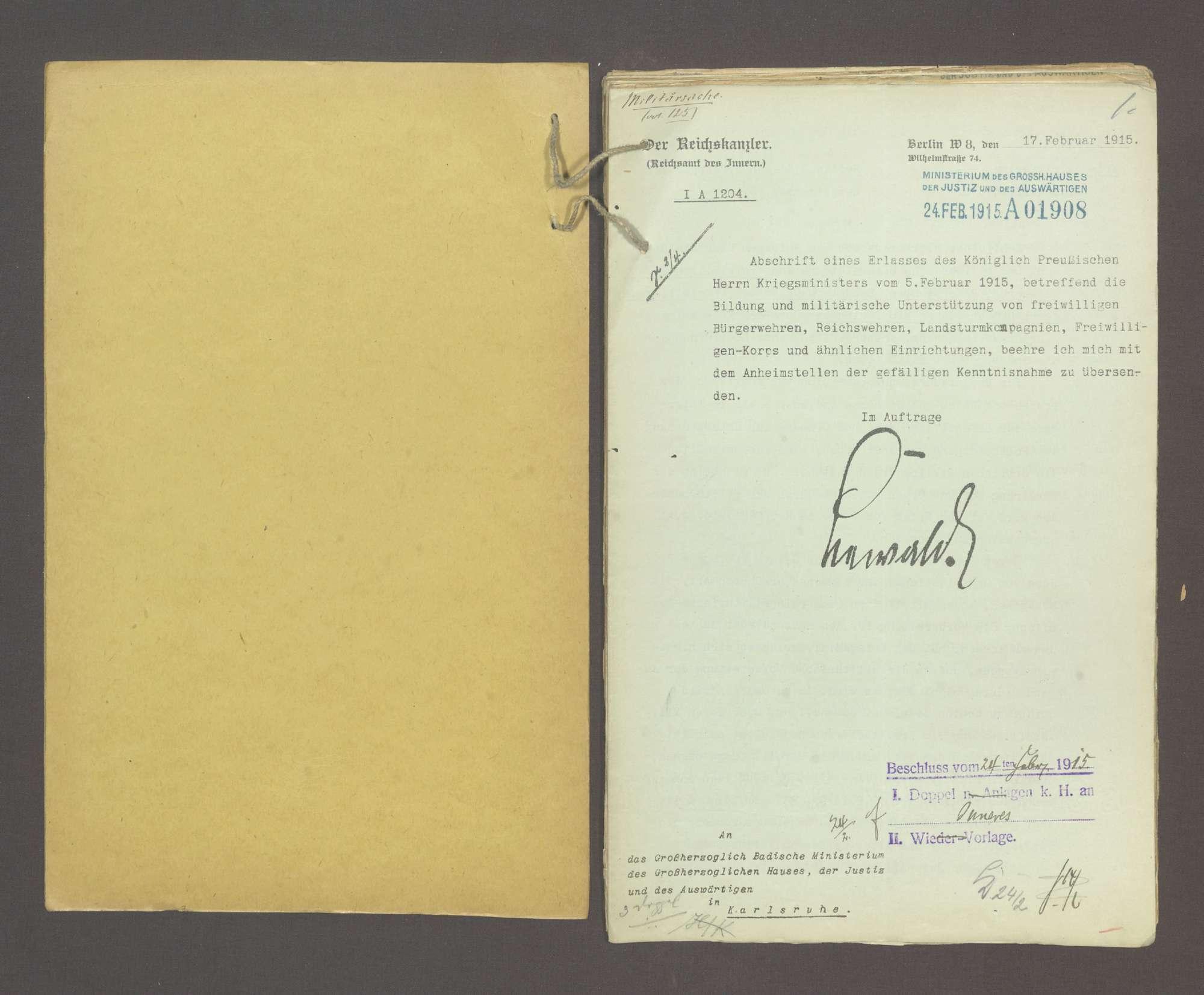 Volkswehren und Einwohnerwehren, Bild 2