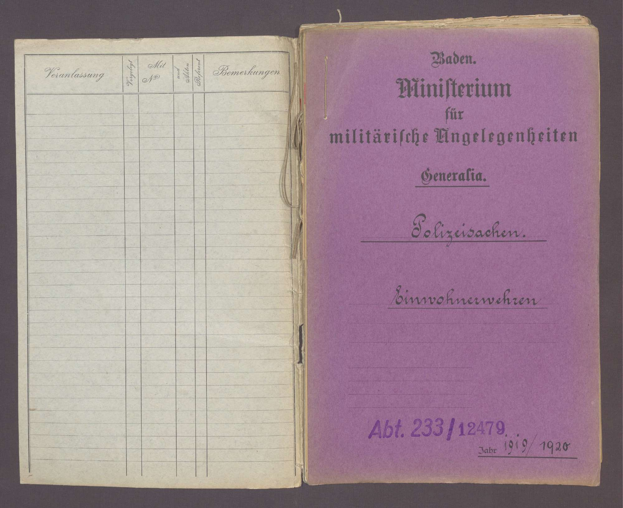 Einwohnerwehren (vgl. Spezialia: Stockach, Konstanz, Karlsruhe, Heidelberg, Freiburg), Bild 2