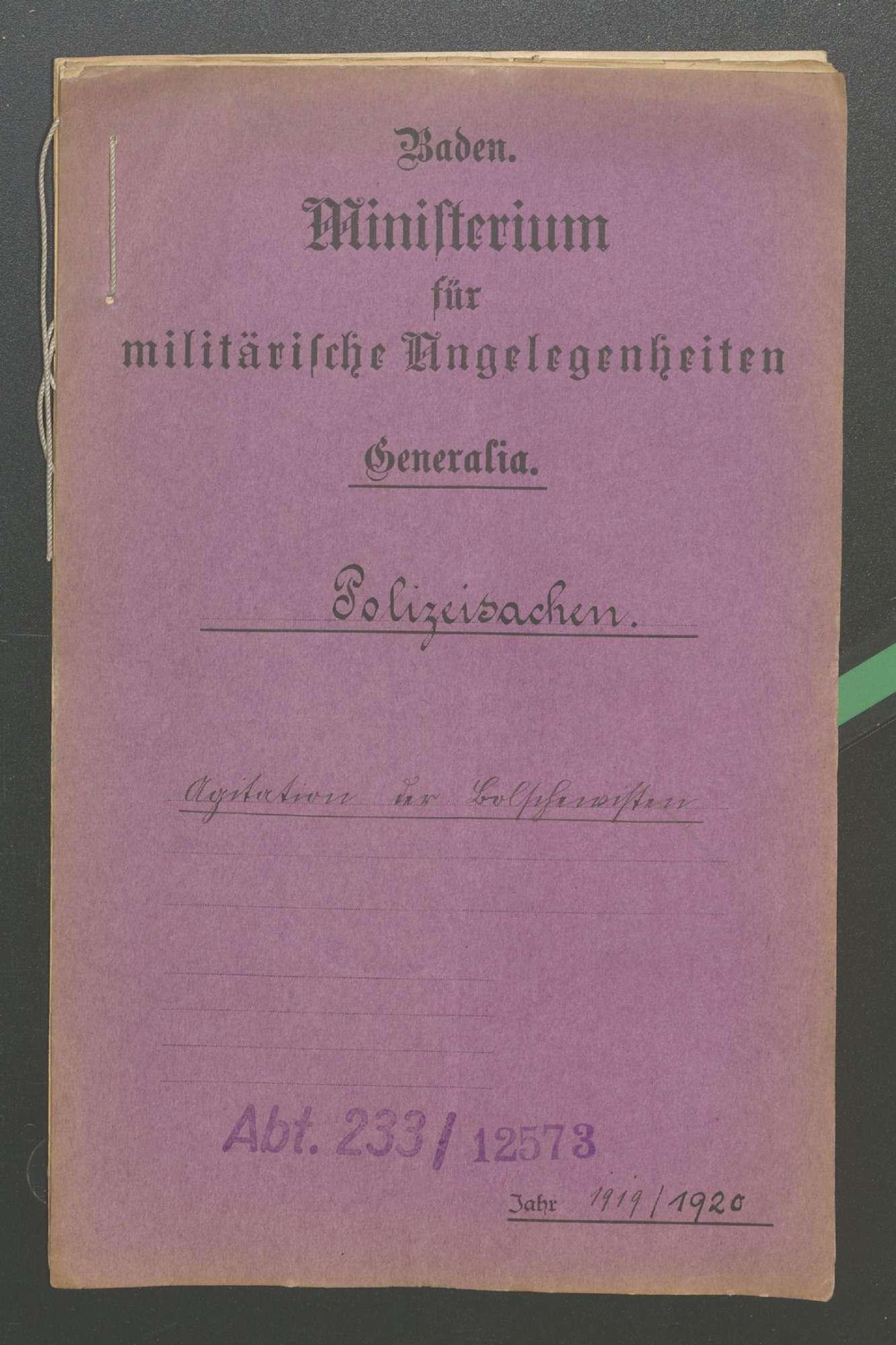 Agitation der Bolschewisten, Bild 1