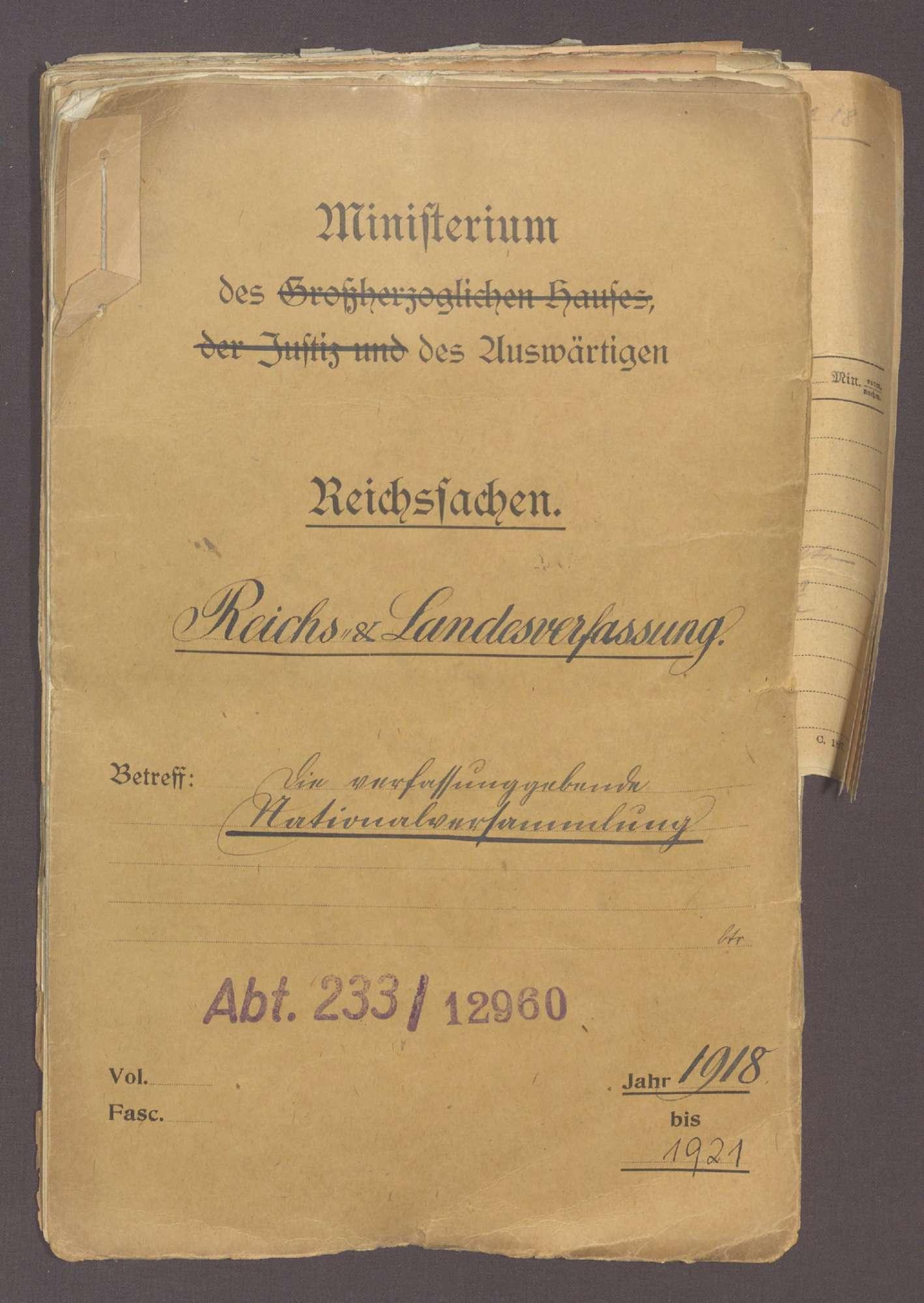 Die verfassungsgebende Nationalversammlung, Bild 1