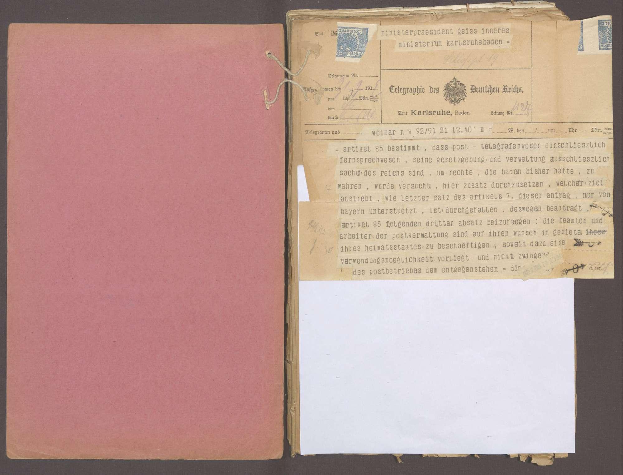 Die Reichsverfassung, Bild 2