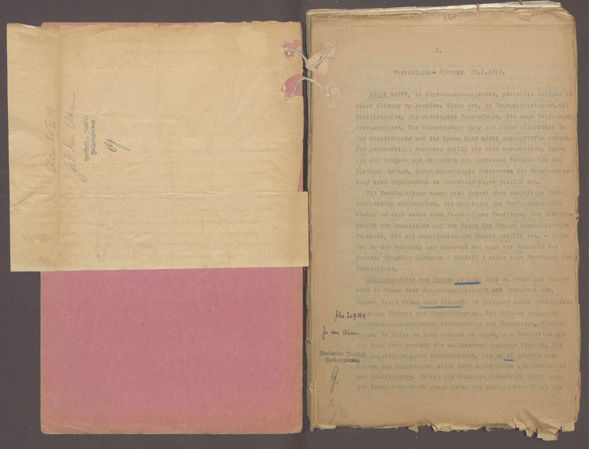 Die Reichsverfassung, Bild 3
