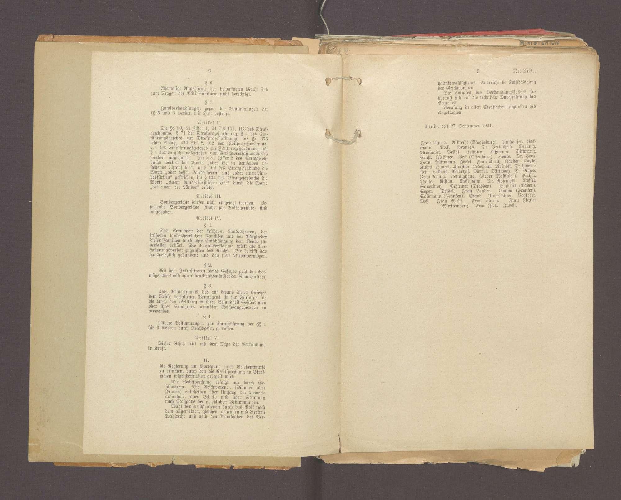 Der Schutz der Republik (I), Bild 3