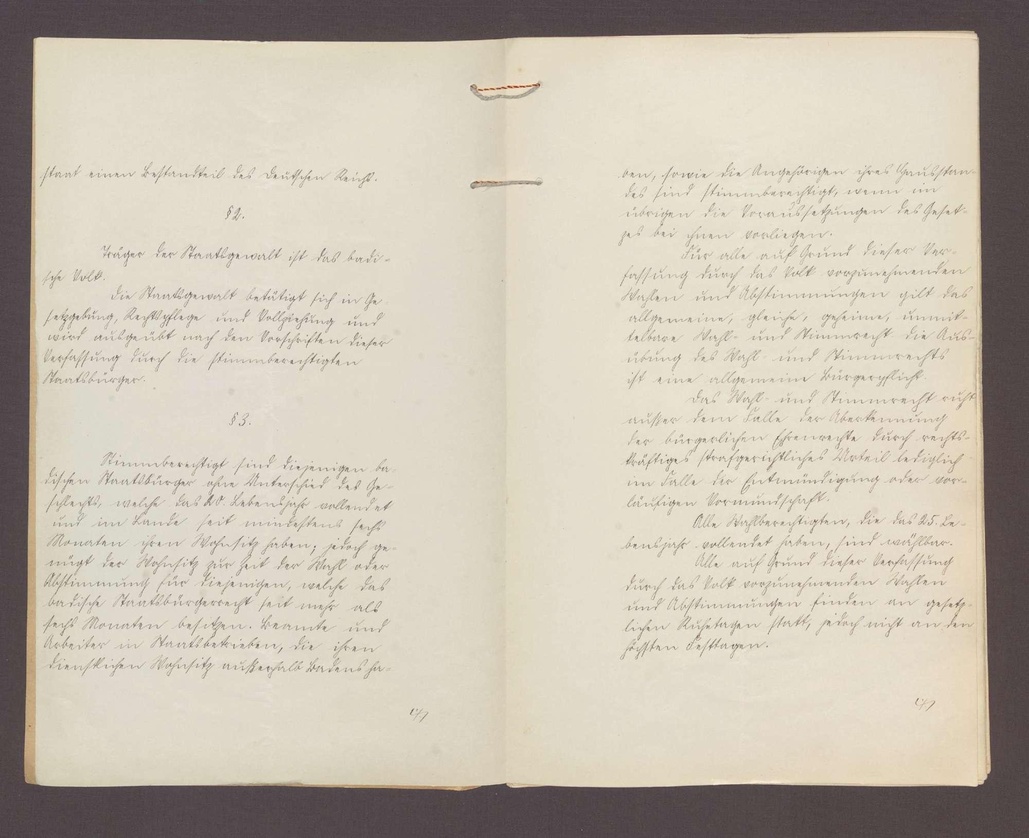 Gesetz über die badische Verfassung (21. März 1919), Bild 3