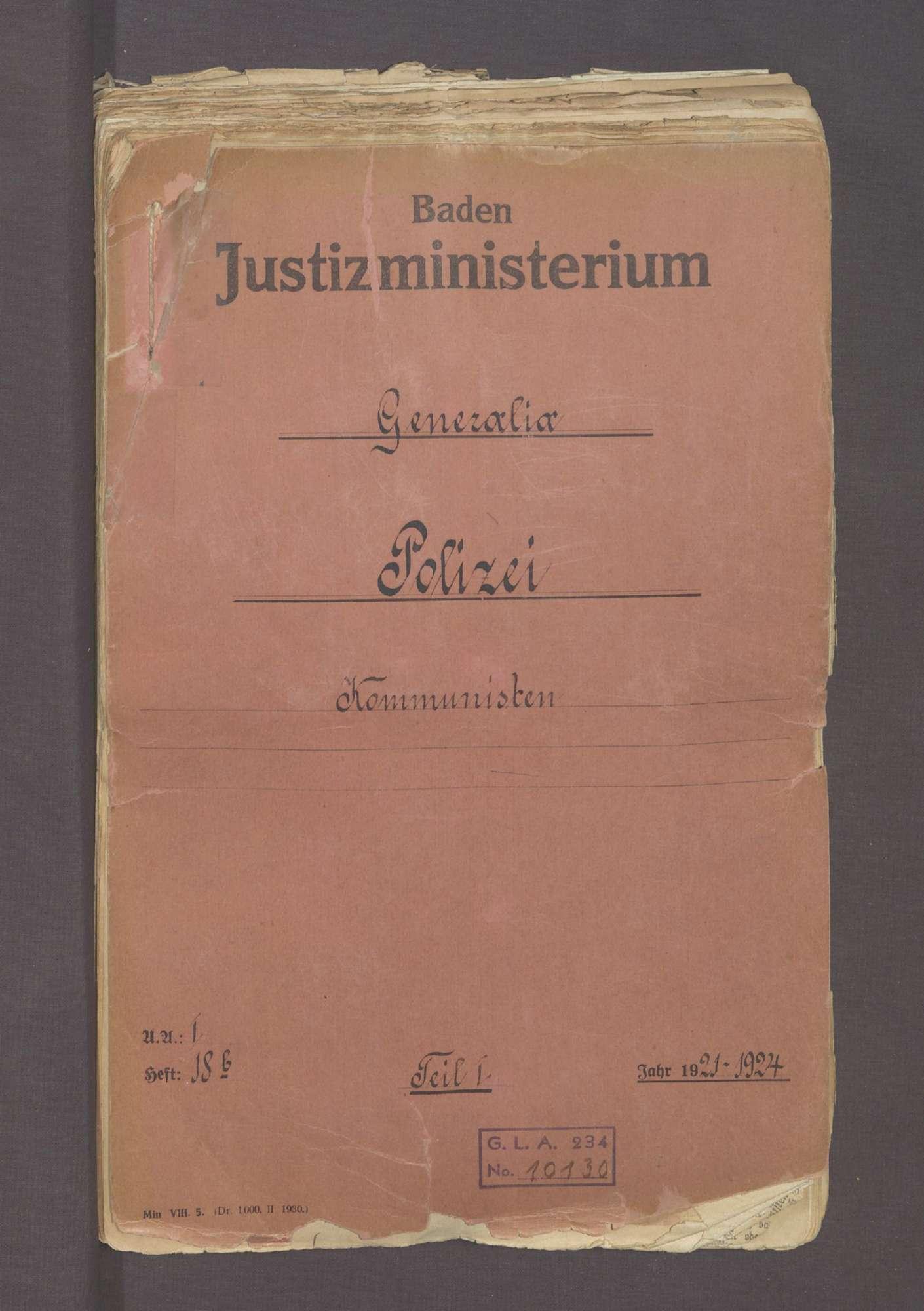 Die Kommunisten (I), Bild 1