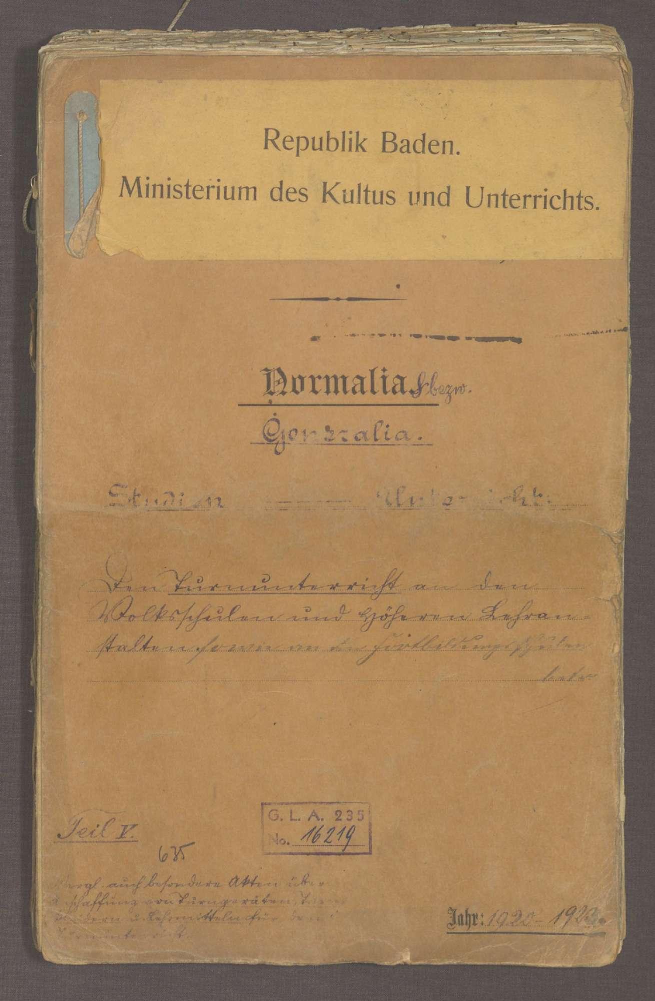 Der Turnunterricht an den Volksschulen und an den höheren Lehranstalten (V), Bild 1