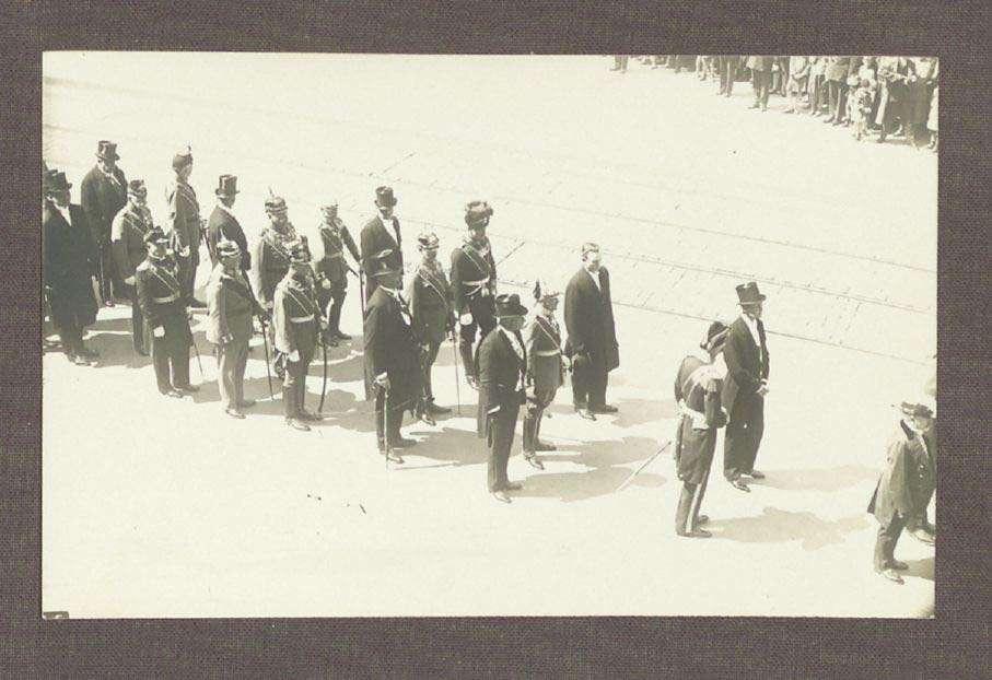 Leichenzug des Großherzogs Friedrich II. von Baden am 16. August 1928 in Karlsruhe, Bild 1