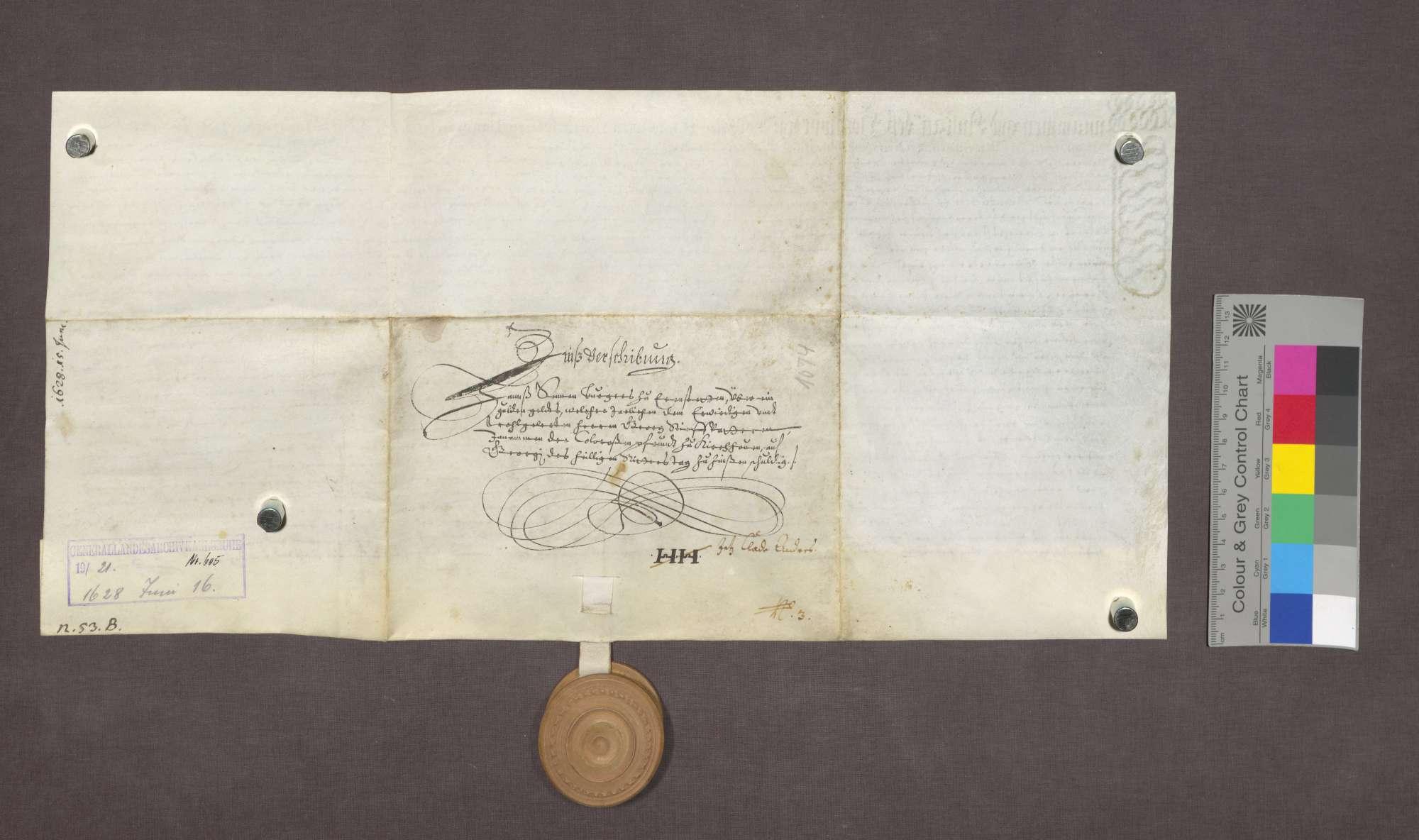 Schuldverschreibung des Hans Senn von Ehrenstetten gegenüber Georg Stiefvater, Kaplan in Kirchhofen., Bild 2