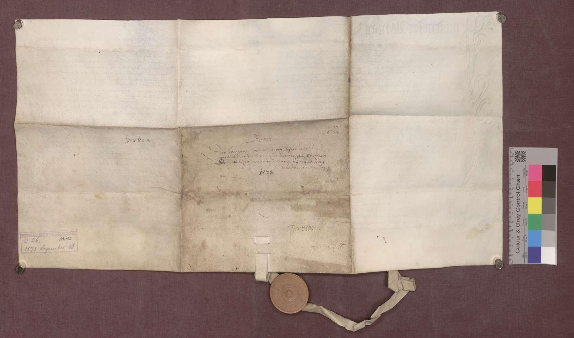 Berain über die Besitzungen des Domstifts Basel zu Herten, beurkundet vom Dorfgericht., Bild 2