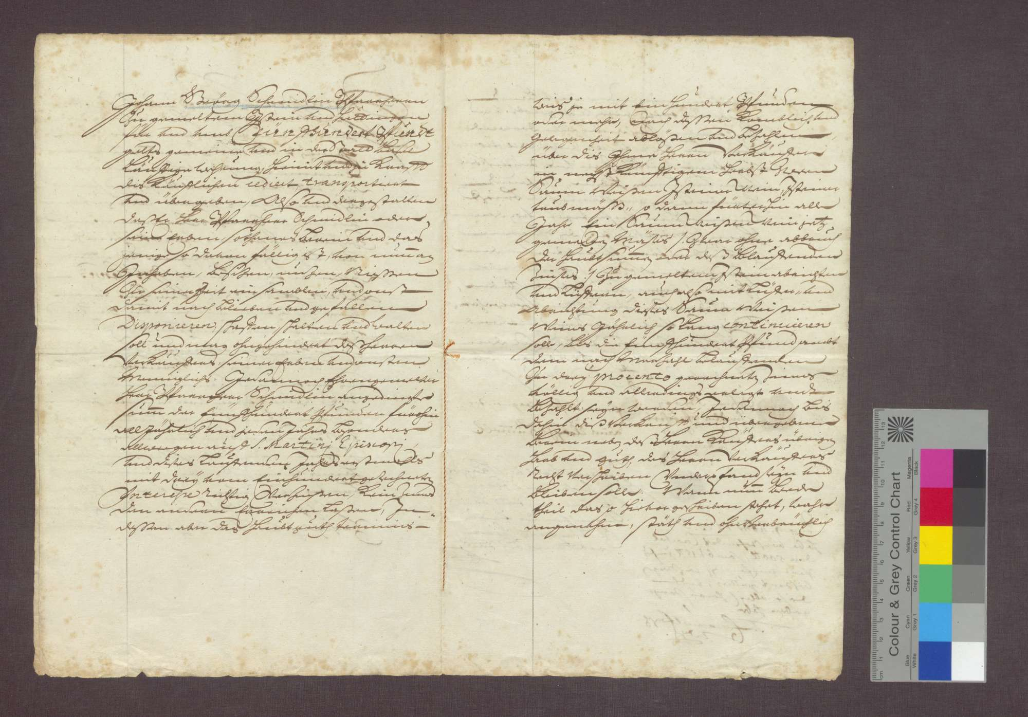 Emanuel Fasch, Waagmeister in Basel, verkauft einen Zehnt zu Istein an den Pfarrer Johann Georg Schmidlin in Istein., Bild 3