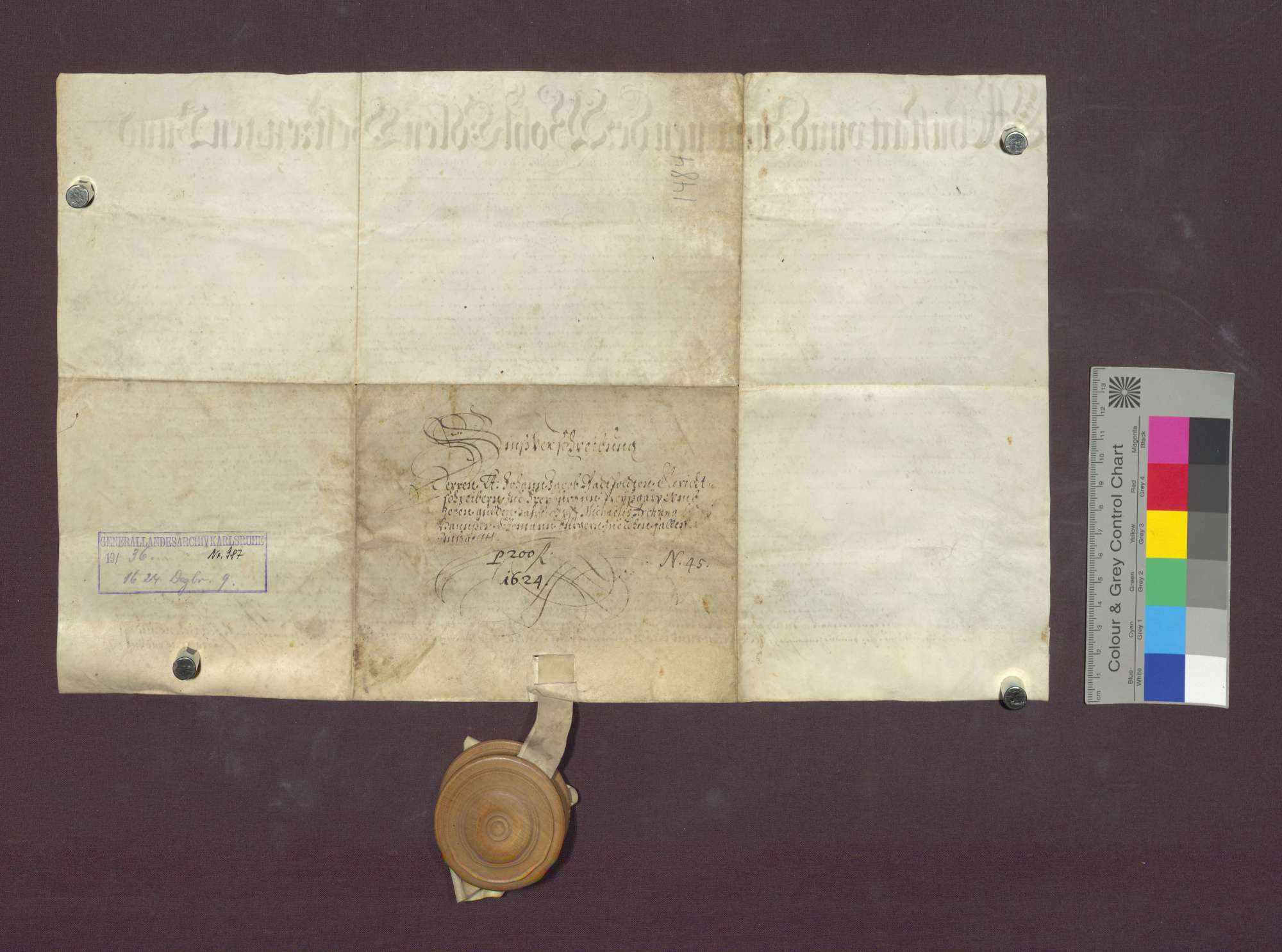 Schuldverschreibung des Hans Ehemann zu Lehen gegenüber Johann Jakob Radtpolt in Freiburg., Bild 2