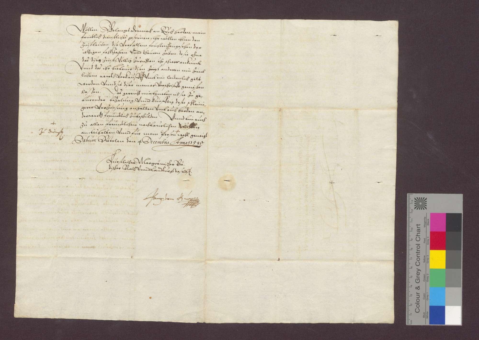 Einkünfte des Domstifts Basel zu Maulburg., Bild 2