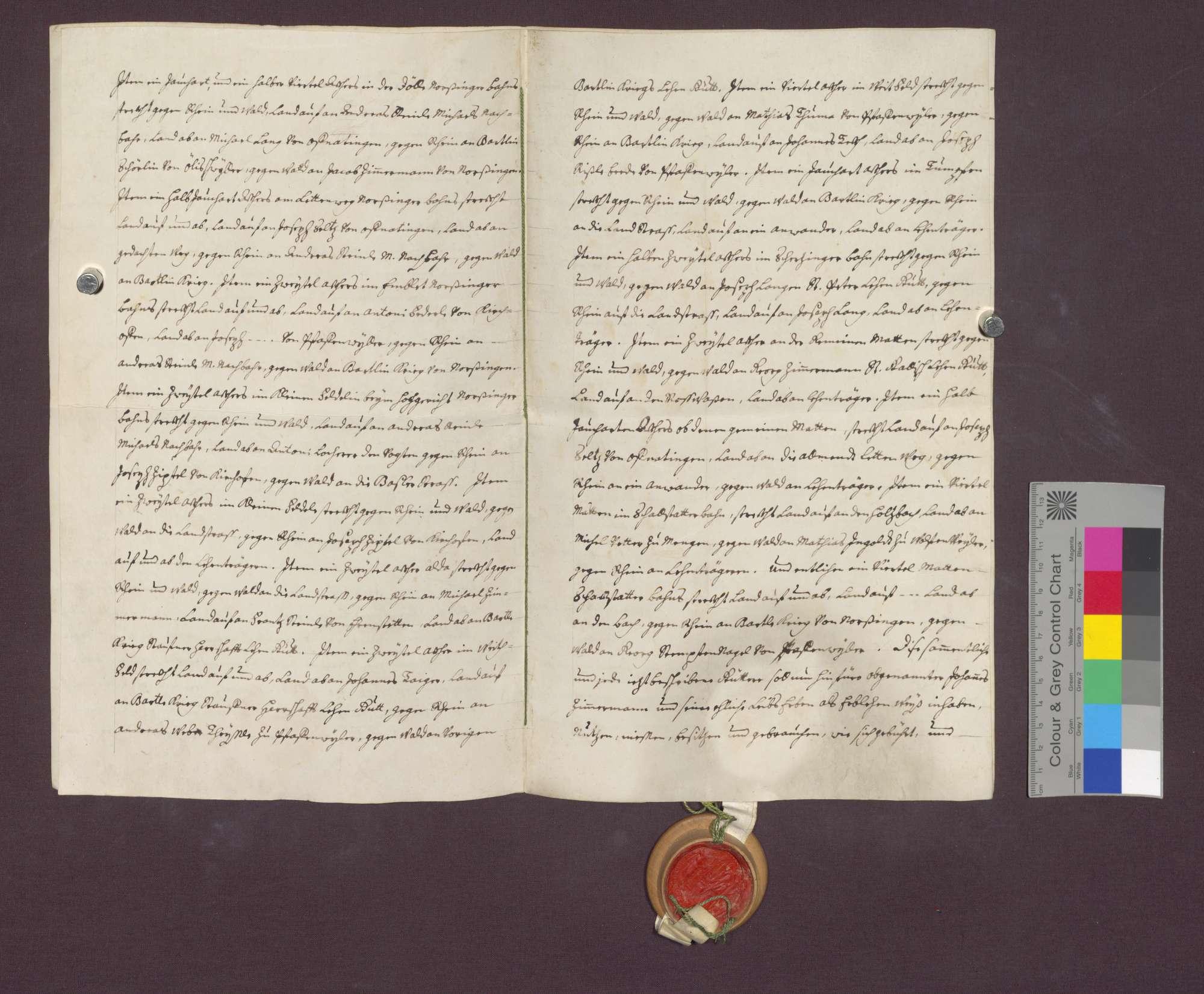 Lehnrevers des Johannes Zimmermann gegenüber dem Basler Domkapitel., Bild 3