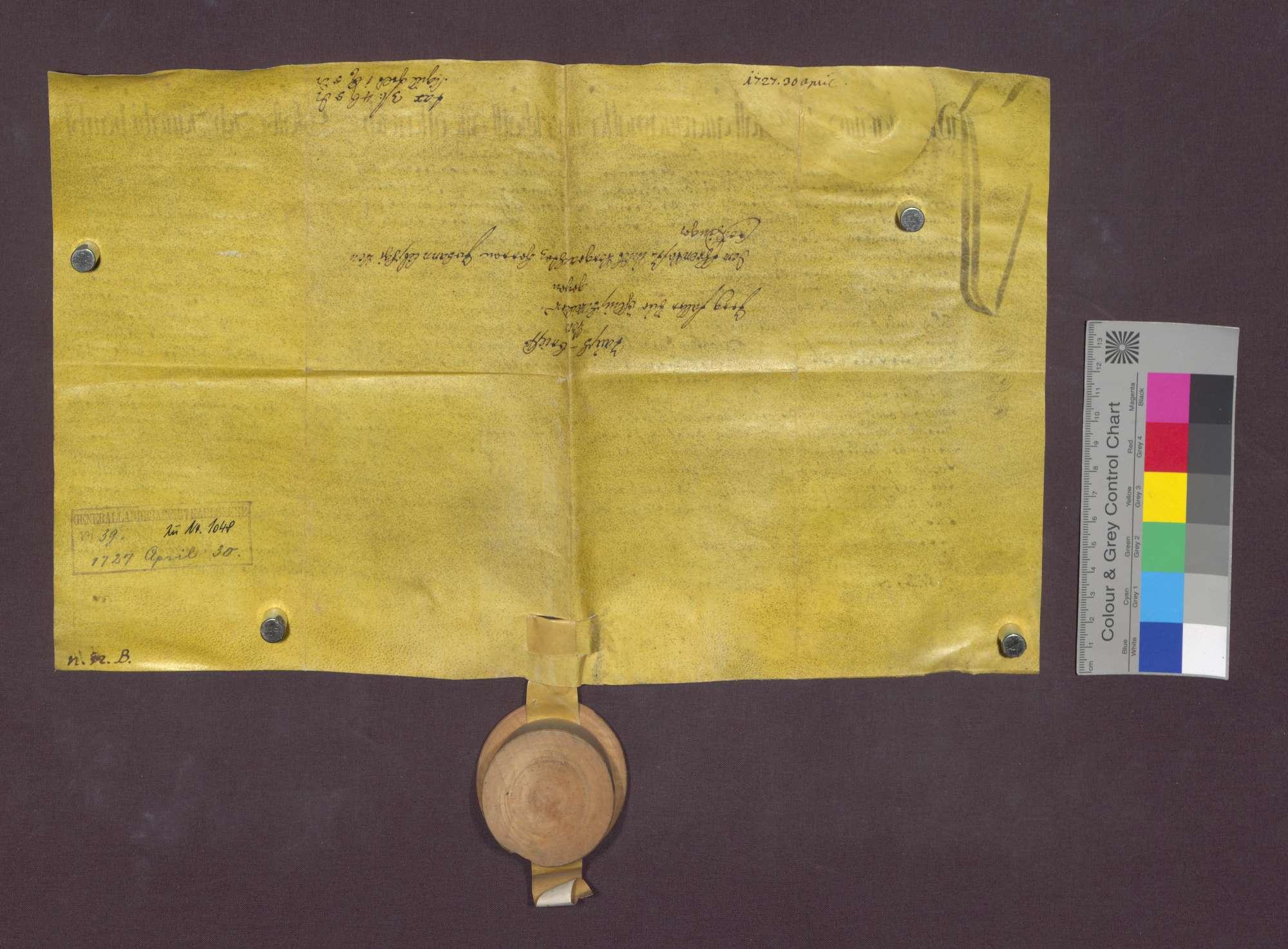 Gütertausch zwischen Jörg Faller von Öhlinsweiler und Johann Litschgi von Krozingen., Bild 3