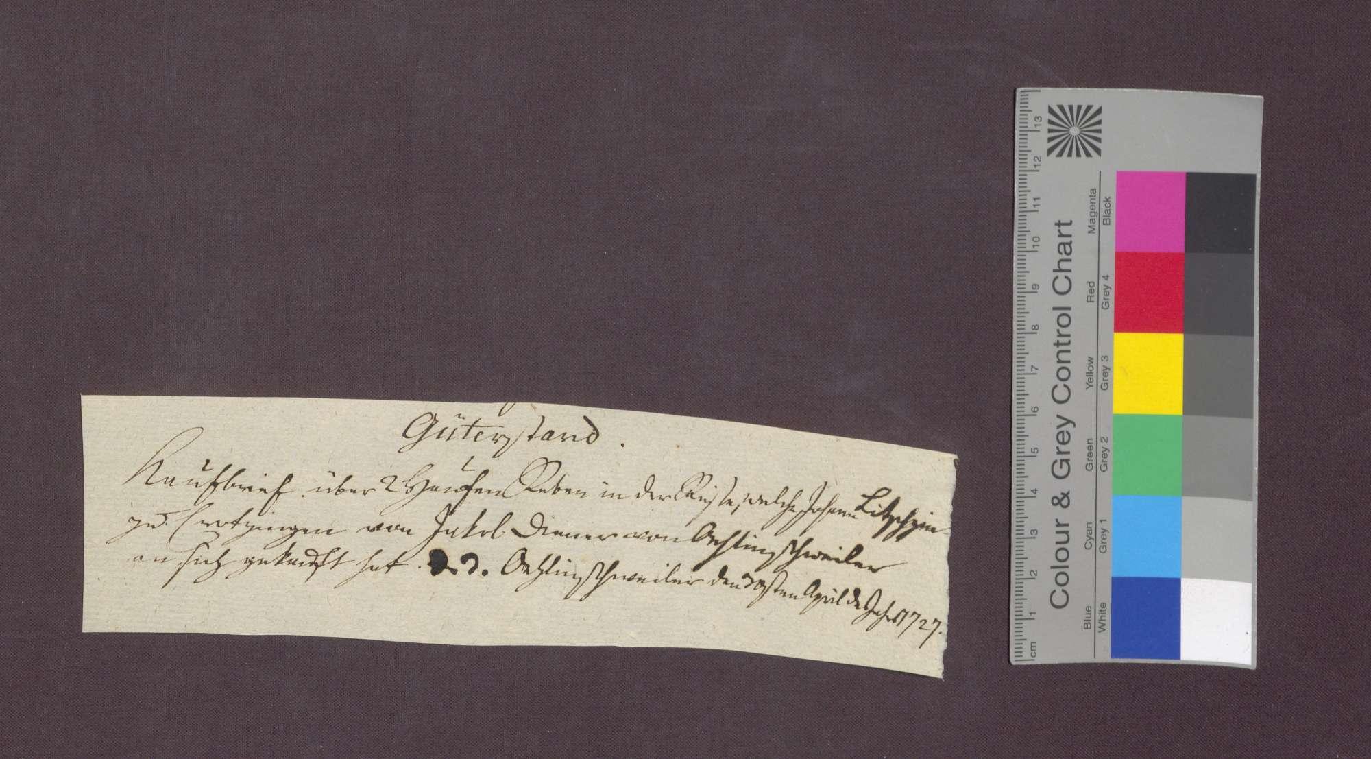 Jakob Diener von Öhlinsweiler verkauft Reben an Johann Litschgi von Krozingen., Bild 1