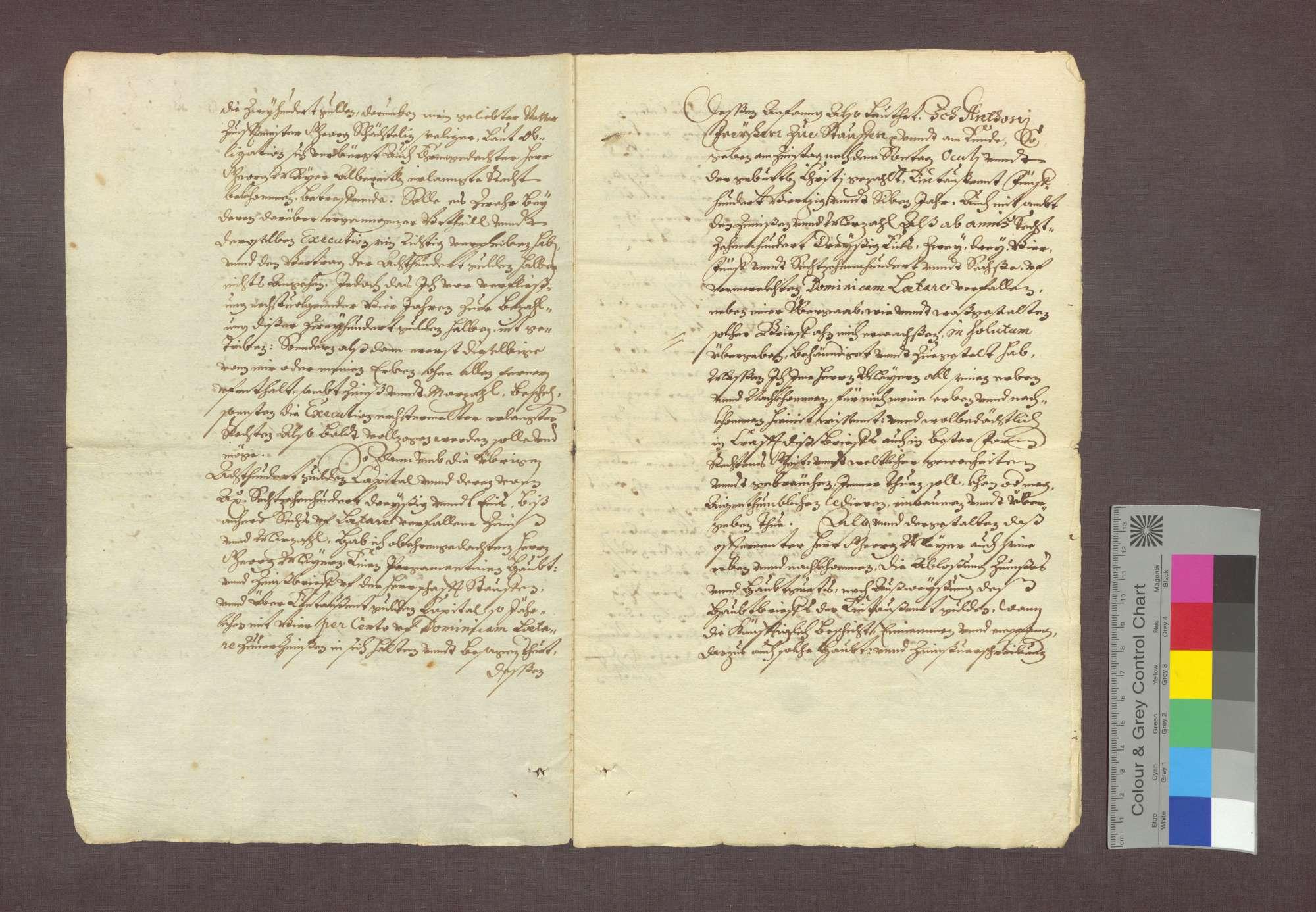 Mathias Schächtelin zu Freiburg übergibt dem Altobristmeister Georg Mayer daselbst eine Schuldforderung gegenüber dem Freiherrn Anton von Staufen., Bild 2