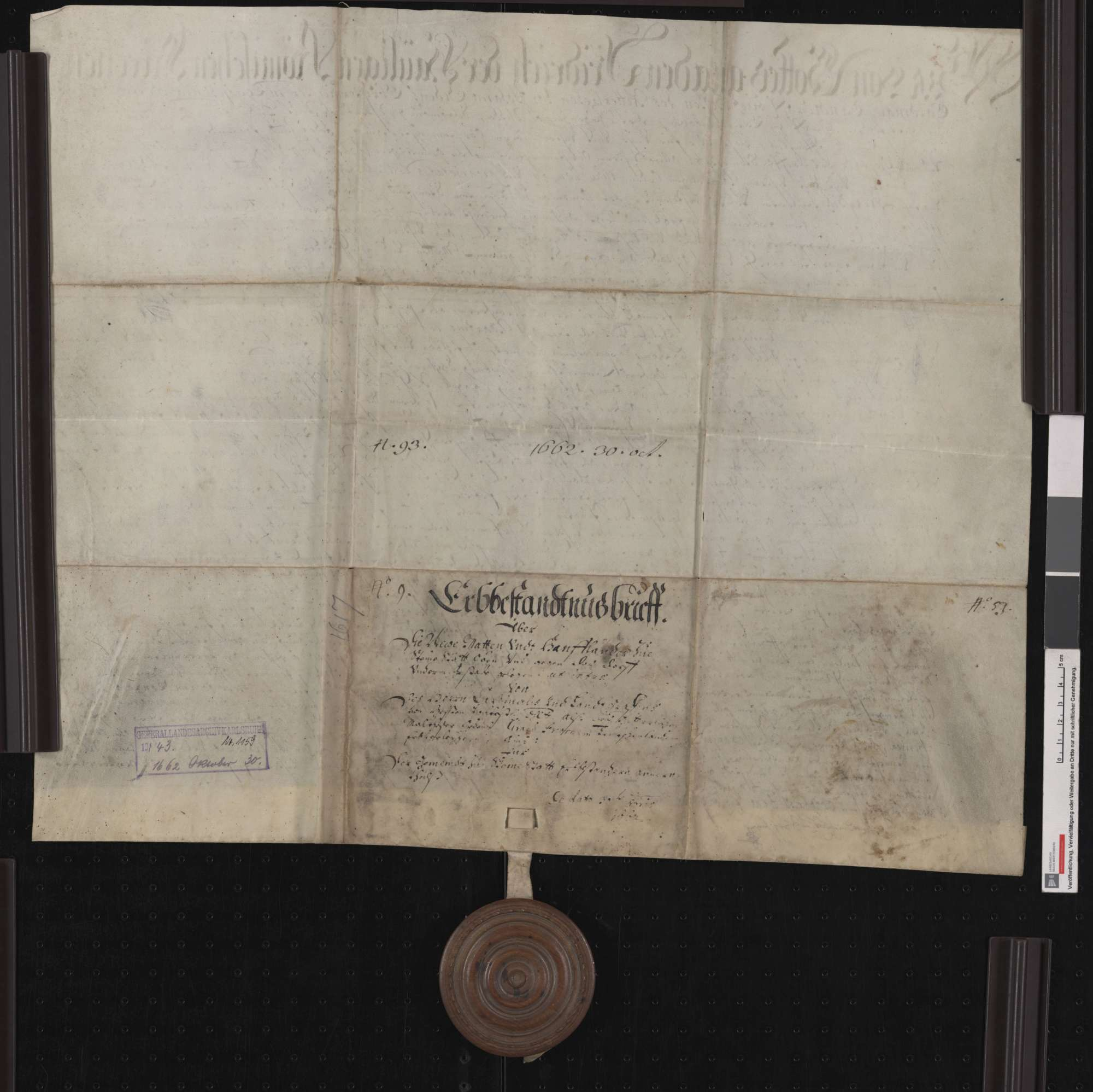 Der Johanniter-Obermeister Friedrich von Hessen belehnt die Gemeinde Steinenstadt mit frisch ausgestockten Matten und mit Hanfland., Bild 2