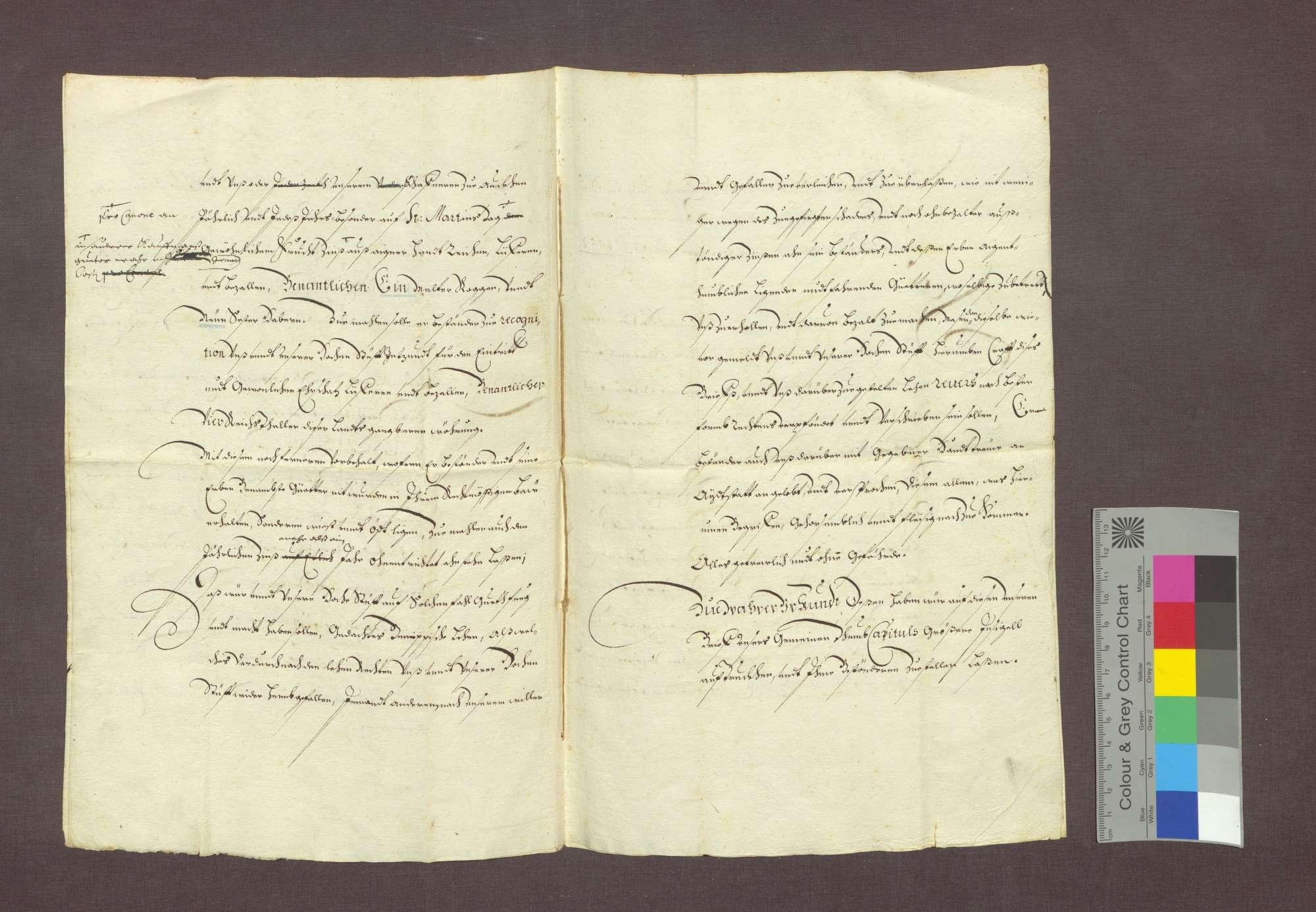 Lehnrevers des Johann Mähre zu Steinenstadt gegenüber dem Basler Domkapitel., Bild 3