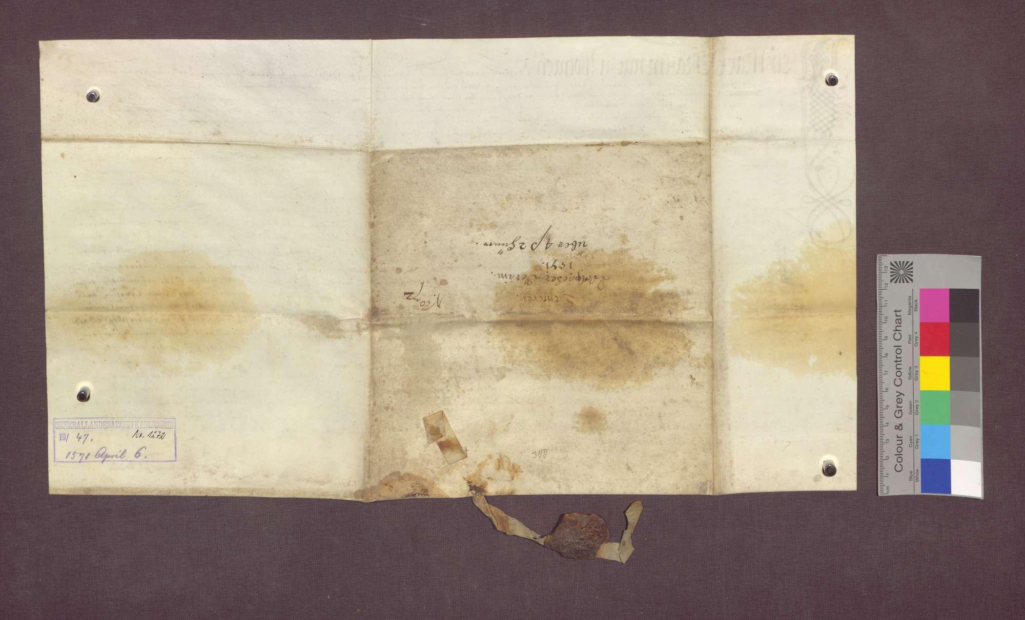 Vor dem Vogt und den Berainpersonen von Wollbach werden die Güter der Kämmerei des Domstifts Basel beraint., Bild 2
