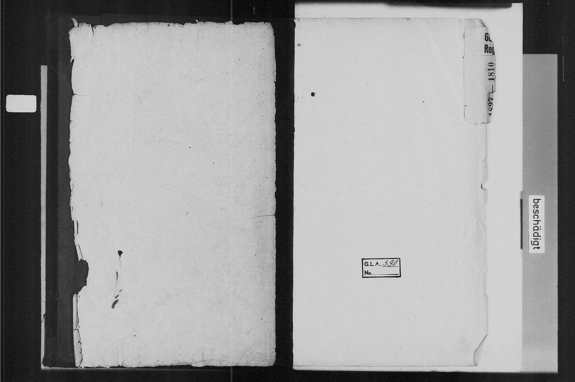 Bühlertal, katholische Gemeinde: Geburtenbuch 1810-1827, Bild 3