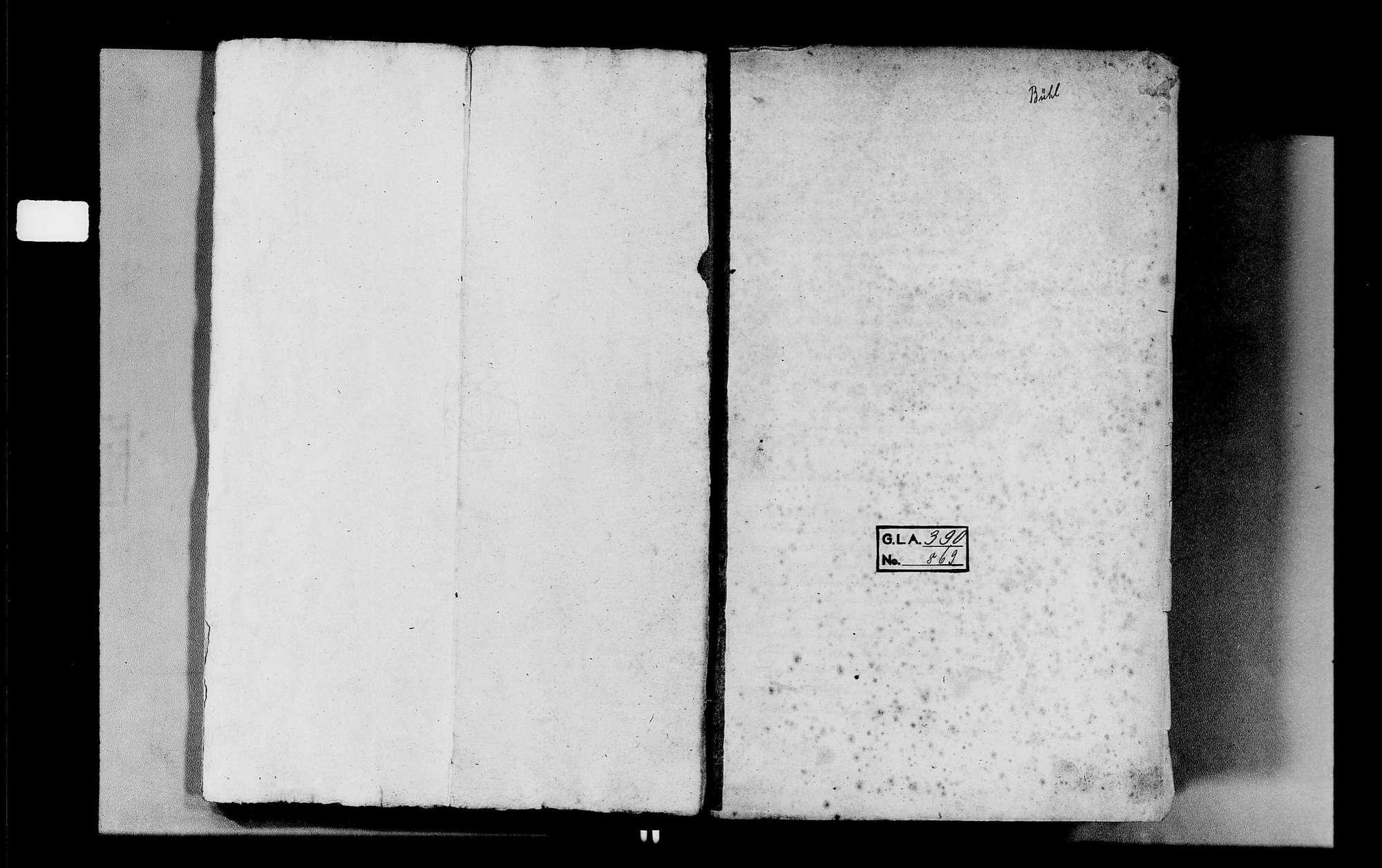 Bühlertal, katholische Gemeinde: Sterbebuch 1847-1870, Bild 3