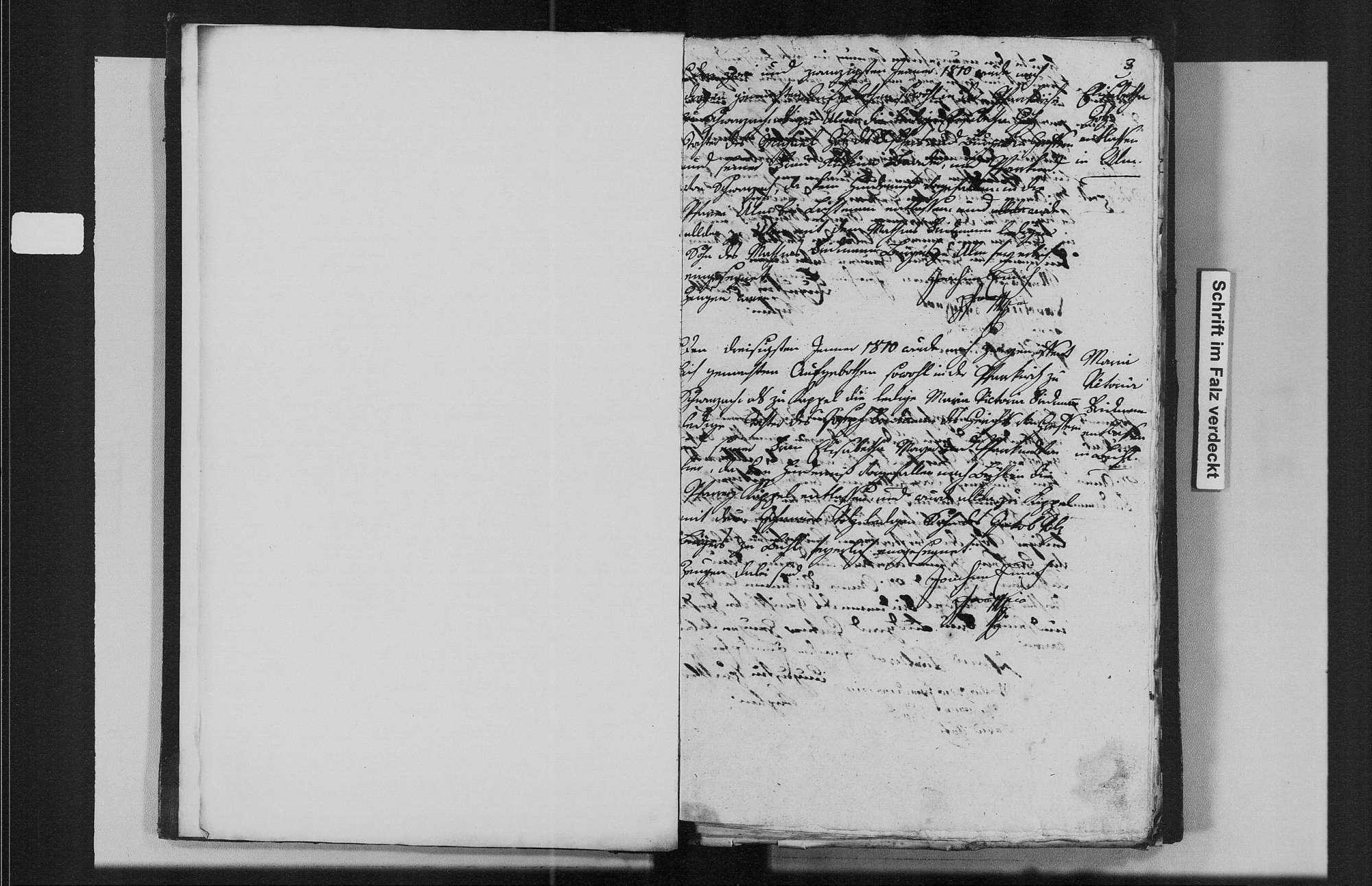 Greffern, katholische Gemeinde: Heiratsbuch 1810-1870, Bild 3