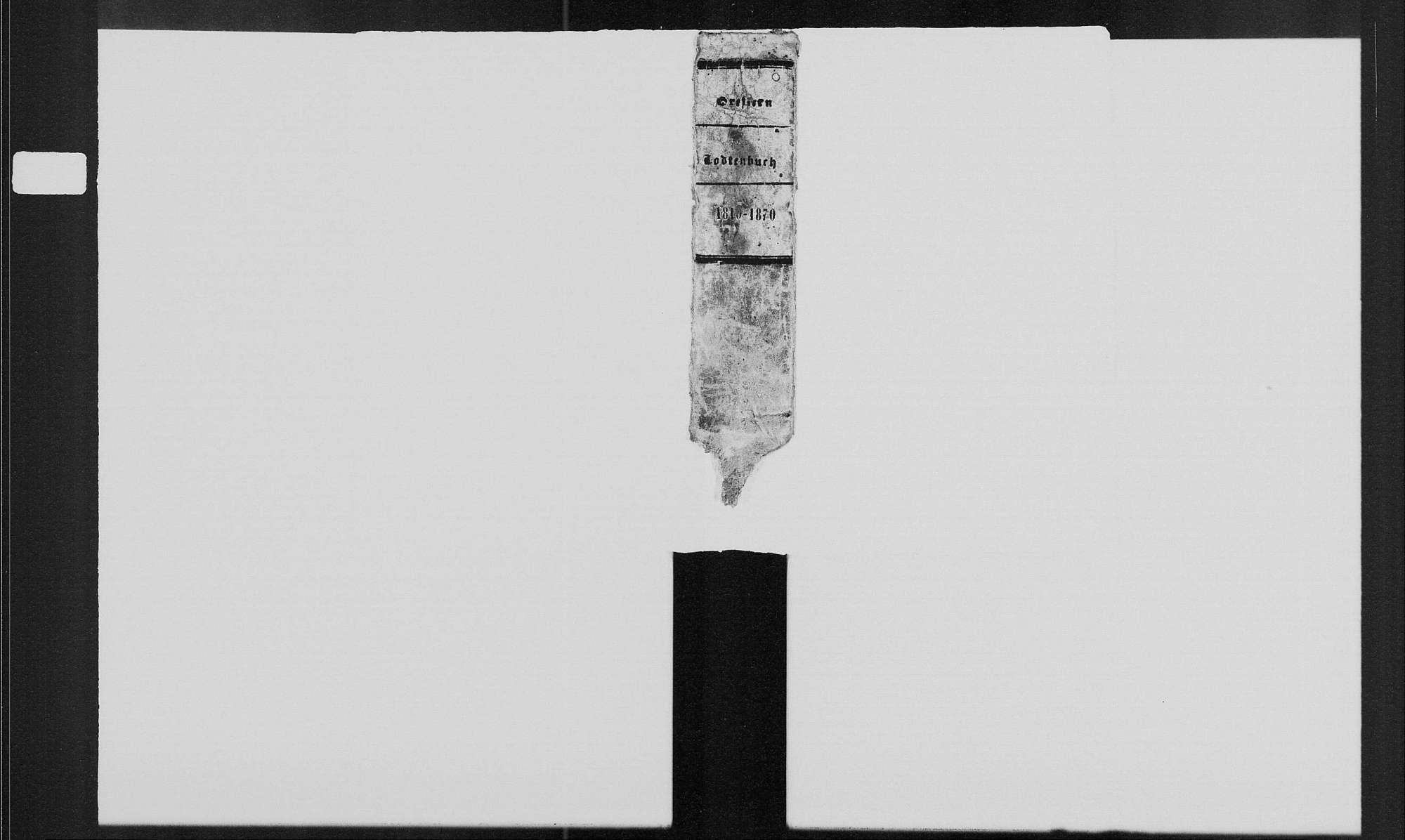 Greffern, katholische Gemeinde: Sterbebuch 1810-1870, Bild 2