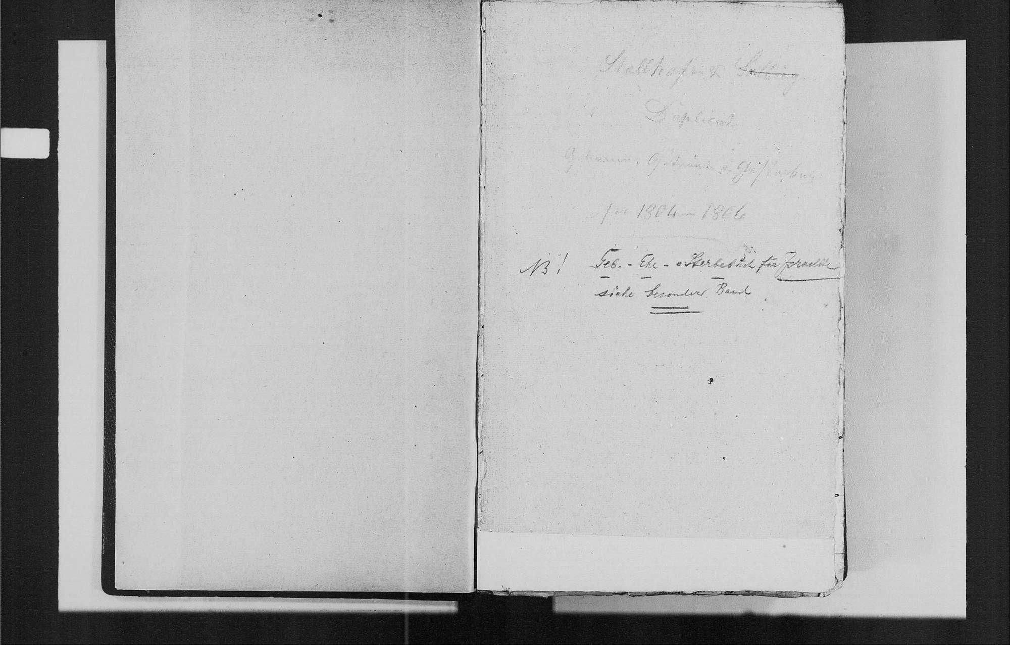 Stollhofen, katholische Gemeinde: Geburtenbuch 1804-1835, Bild 3