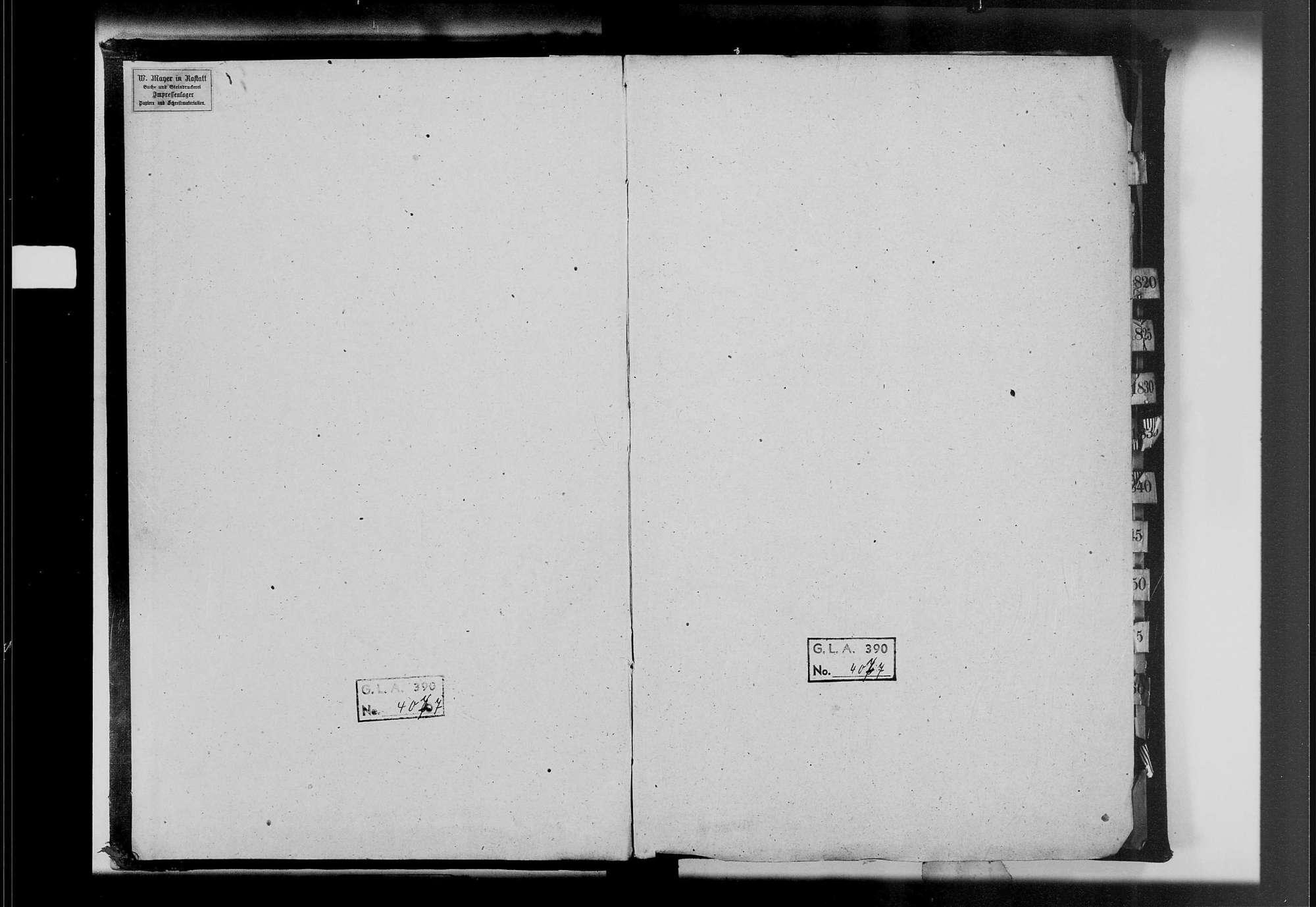 Hügelsheim, katholische Gemeinde: Heiratsbuch 1809-1869, Bild 2