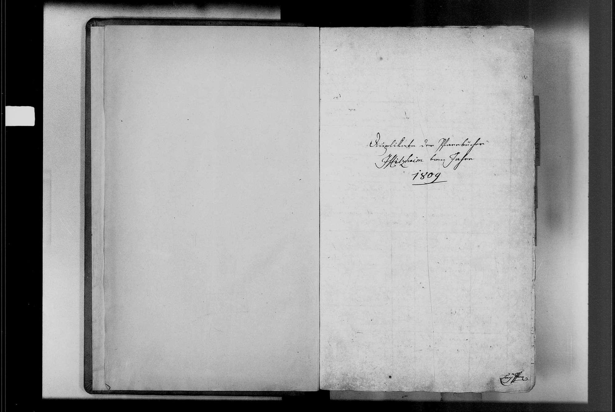 Iffezheim, katholische Gemeinde: Geburtenbuch 1809-1845, Bild 3