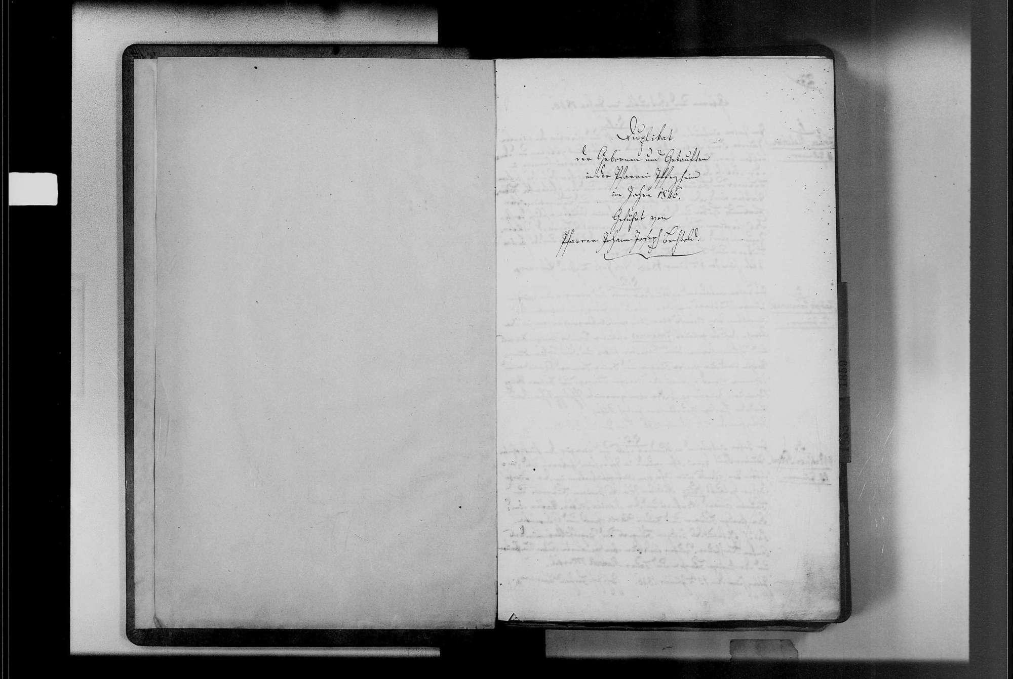 Iffezheim, katholische Gemeinde: Geburtenbuch 1846-1869, Bild 3