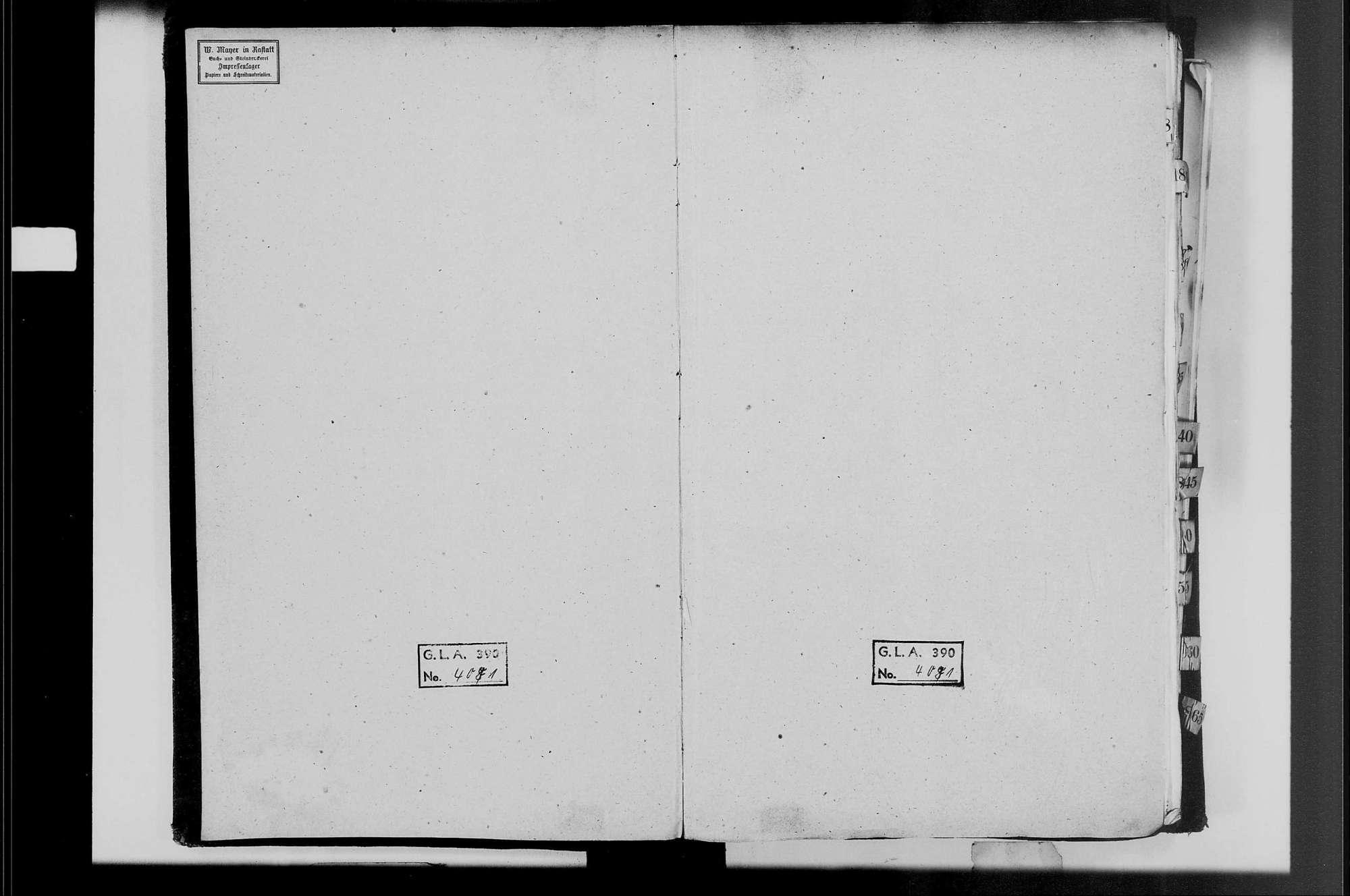 Iffezheim, katholische Gemeinde: Heiratsbuch 1809-1870, Bild 2