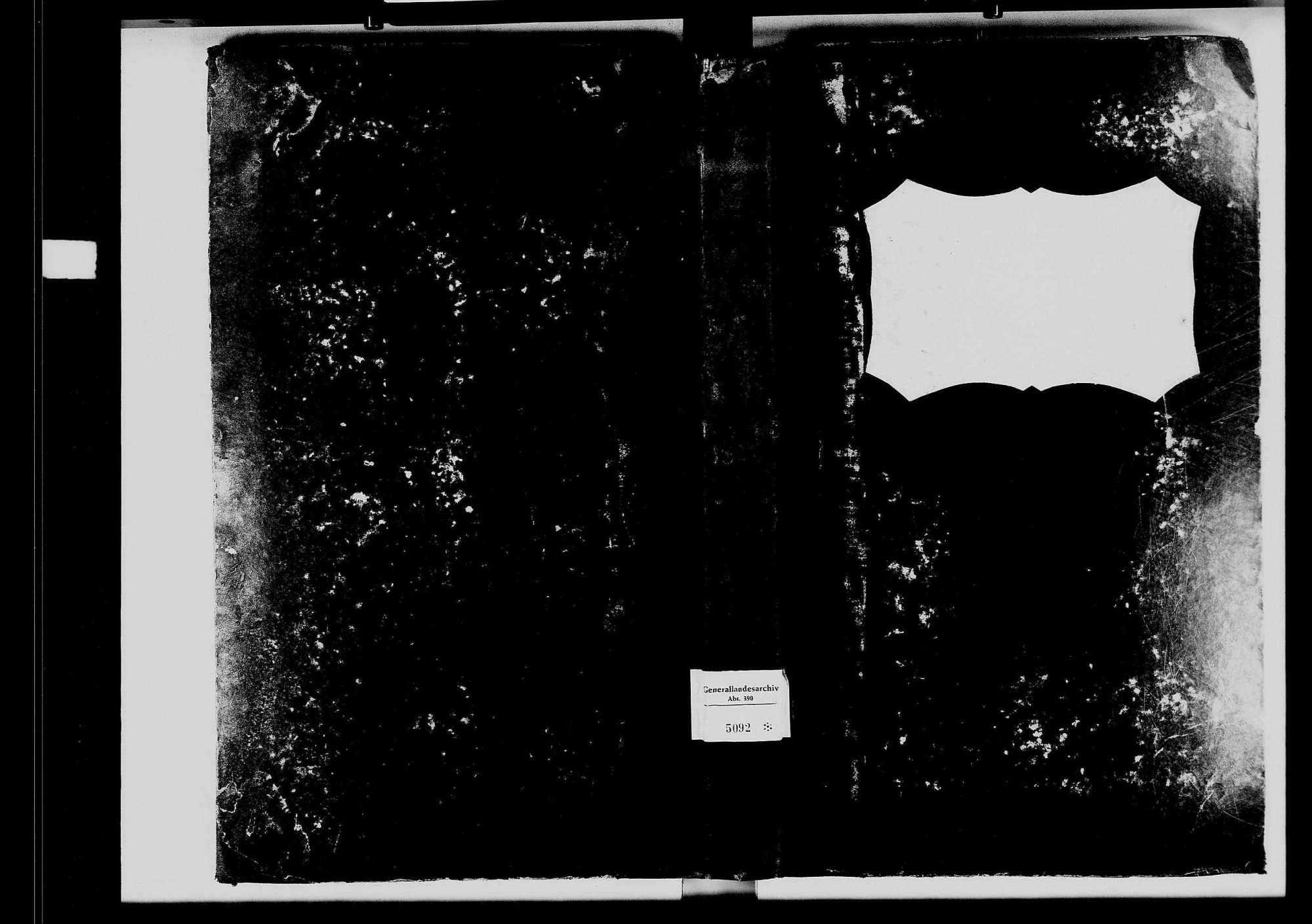 Gissigheim, katholische und israelitische Gemeinde: Standesbuch 1820-1829, Bild 1