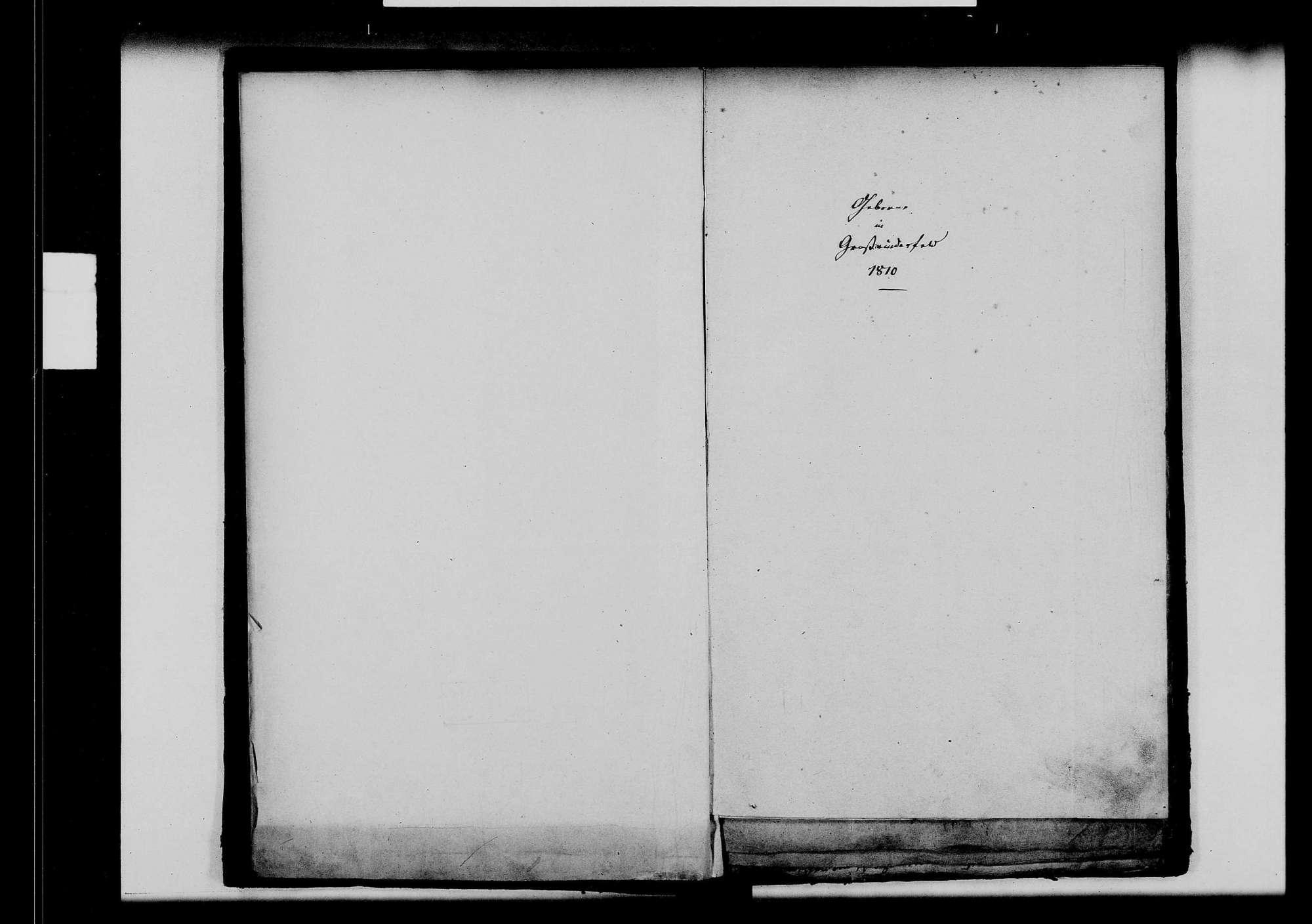 Großrinderfeld, katholische Gemeinde: Standesbuch 1810-1819, Bild 3
