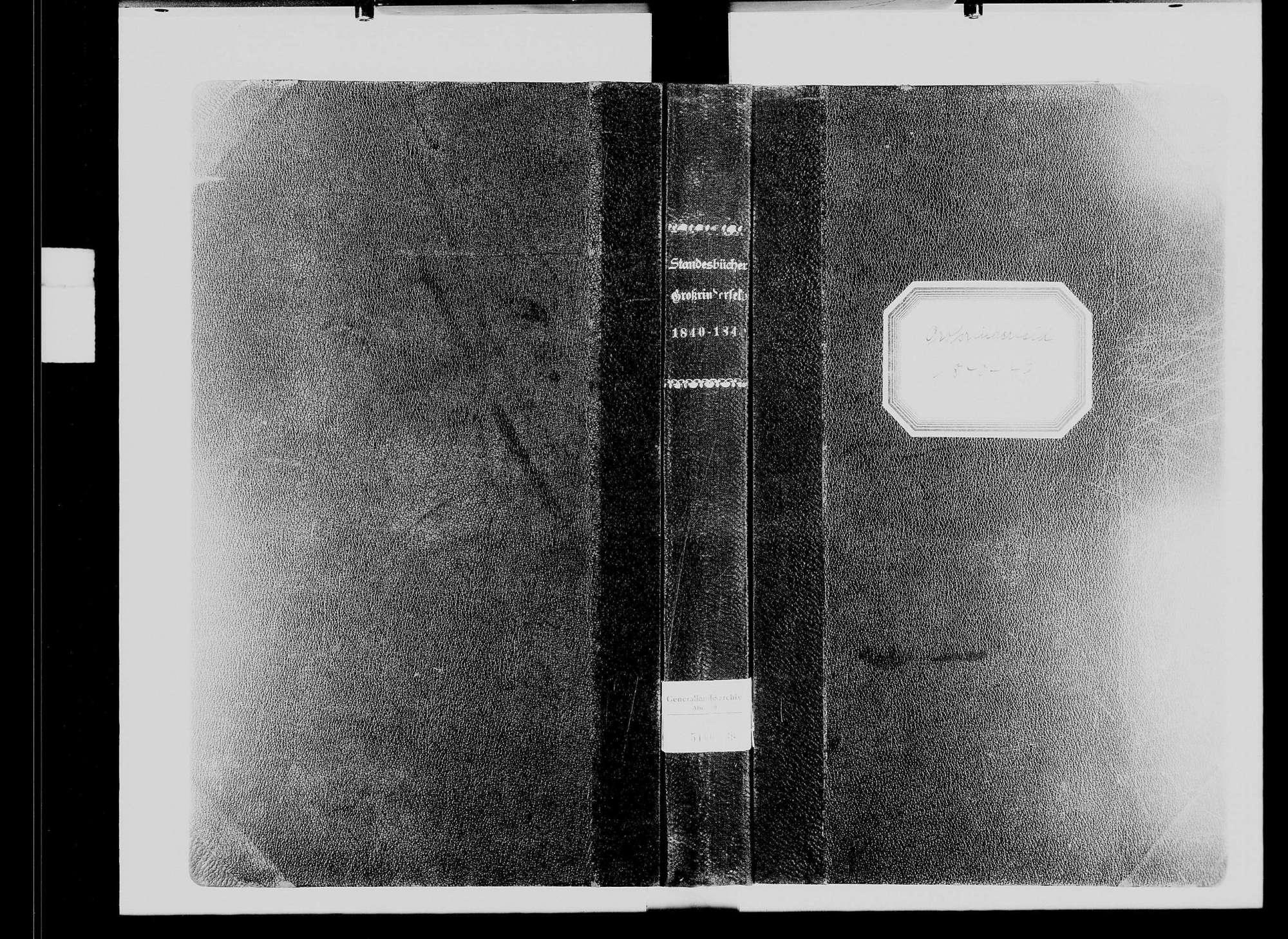 Großrinderfeld, katholische Gemeinde: Standesbuch 1840-1849, Bild 2