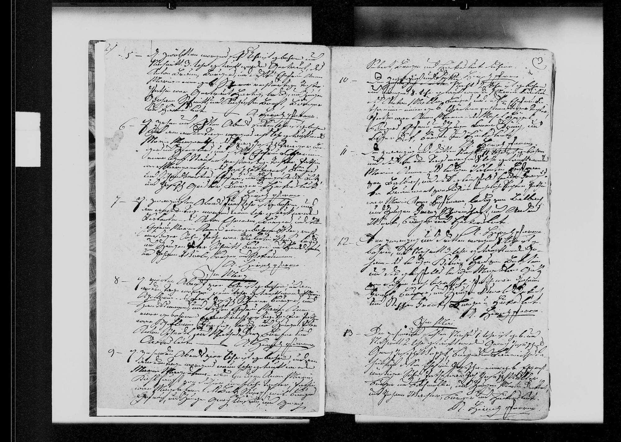 Königshofen, katholische und israelitische Gemeinde: Standesbuch 1825-1840, Bild 3