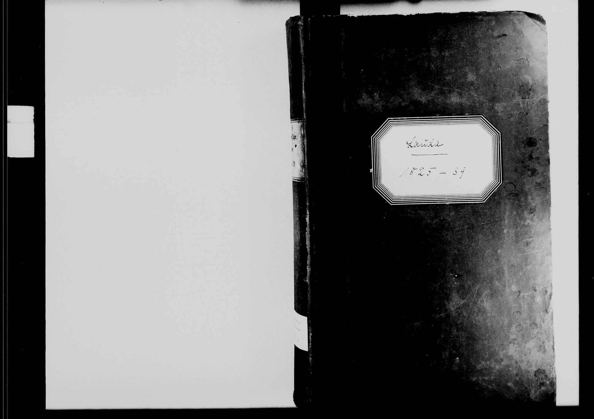 Lauda, katholische Gemeinde: Standesbuch 1825-1839, Bild 1