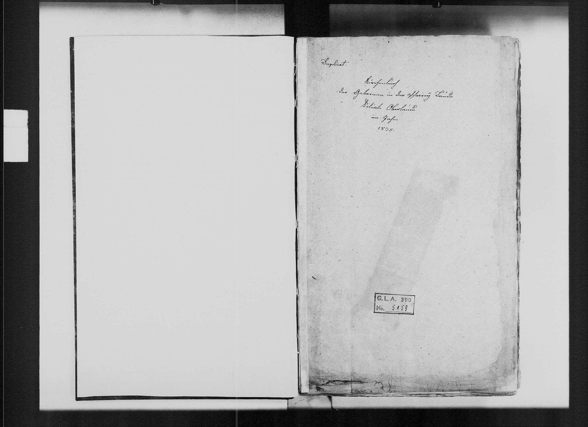 Oberlauda, katholische Gemeinde: Standesbuch 1835-1851, Bild 2