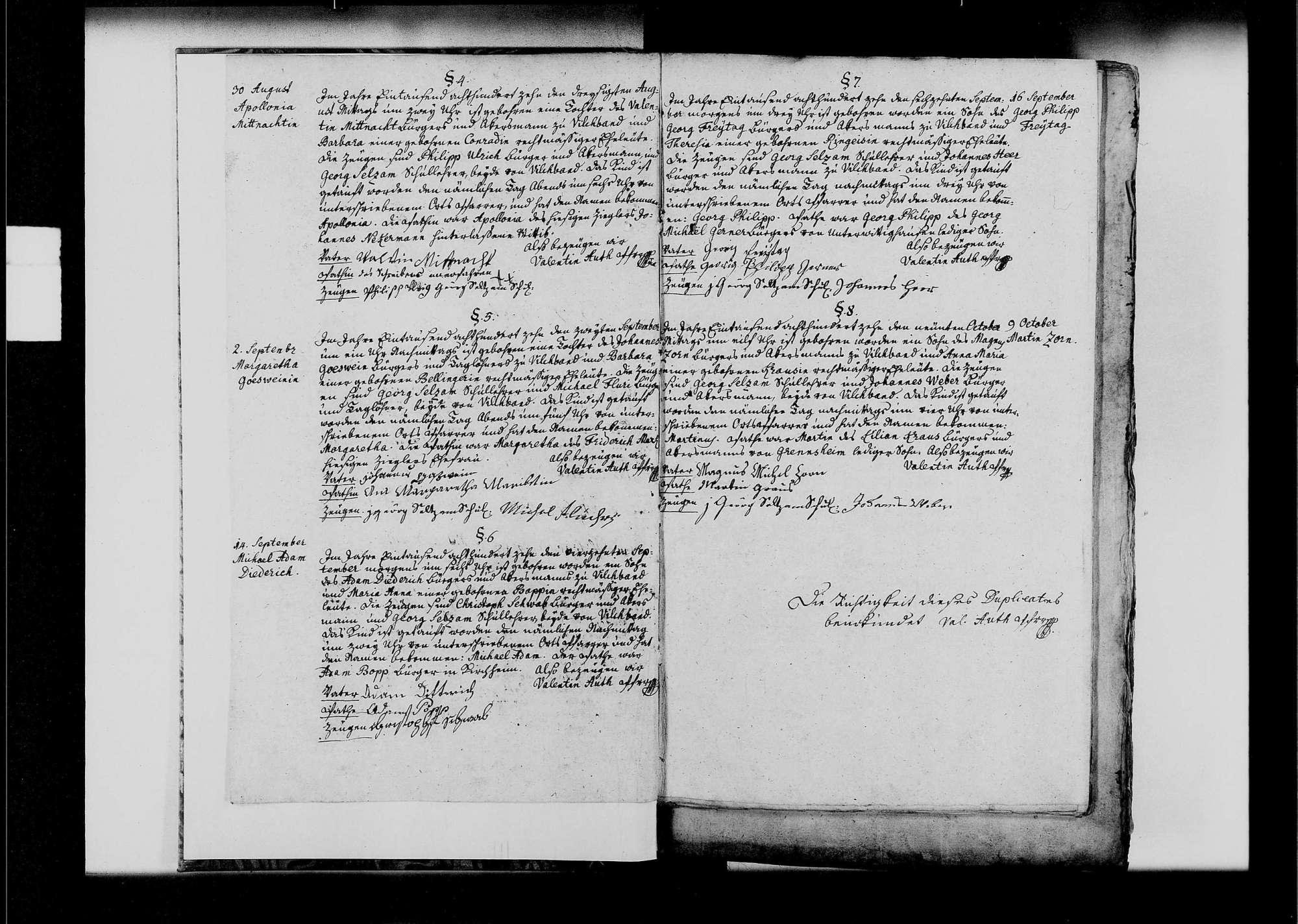 Vilchband, katholische Gemeinde: Standesbuch 1810-1839, Bild 3