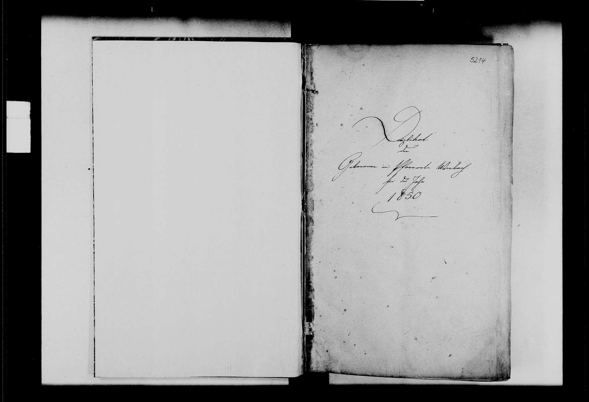 Werbach, katholische Gemeinde: Standesbuch 1850-1859, Bild 2