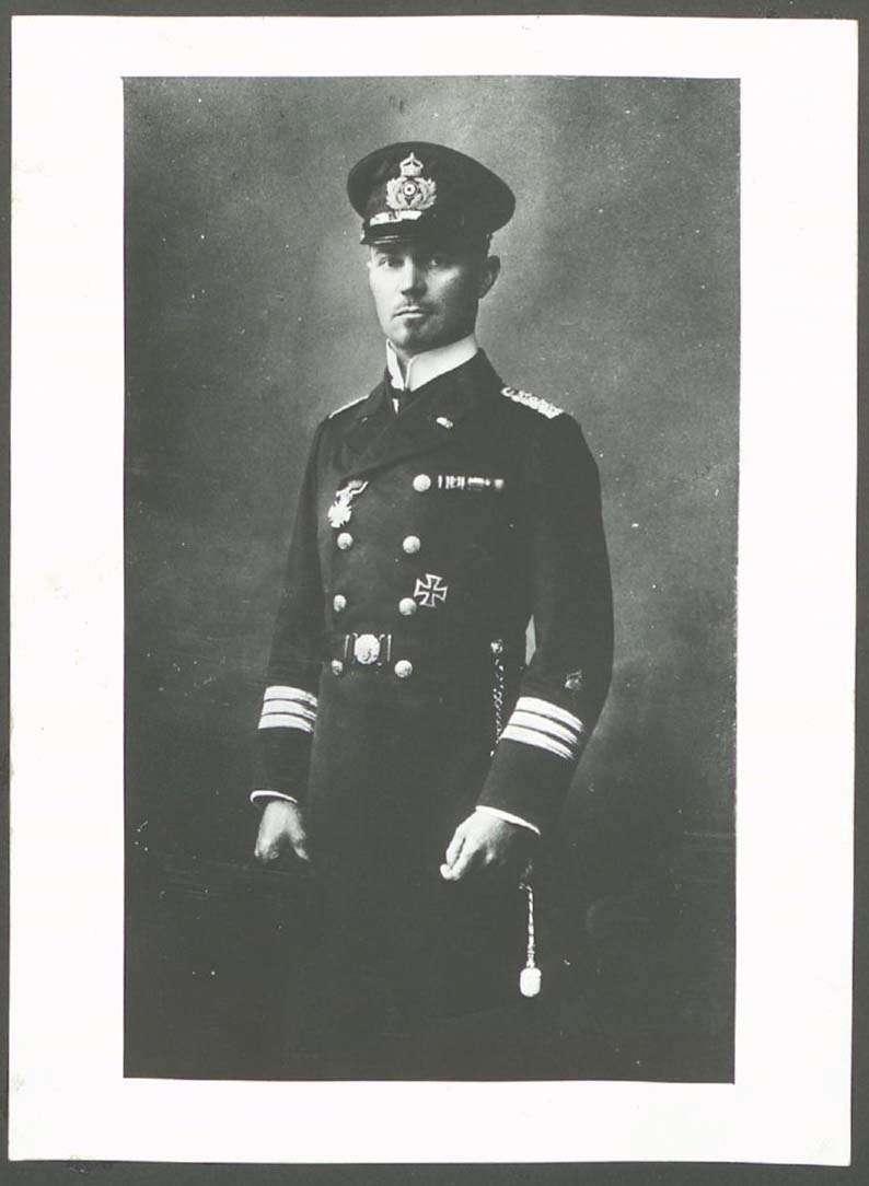 Ehrhardt, Hermann, (1881-1971), Marineoffizier, Bild 1