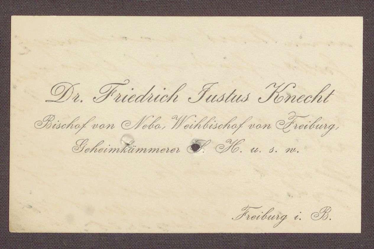Knecht Friedrich Justus Heinrich Detailseite Leo Bw